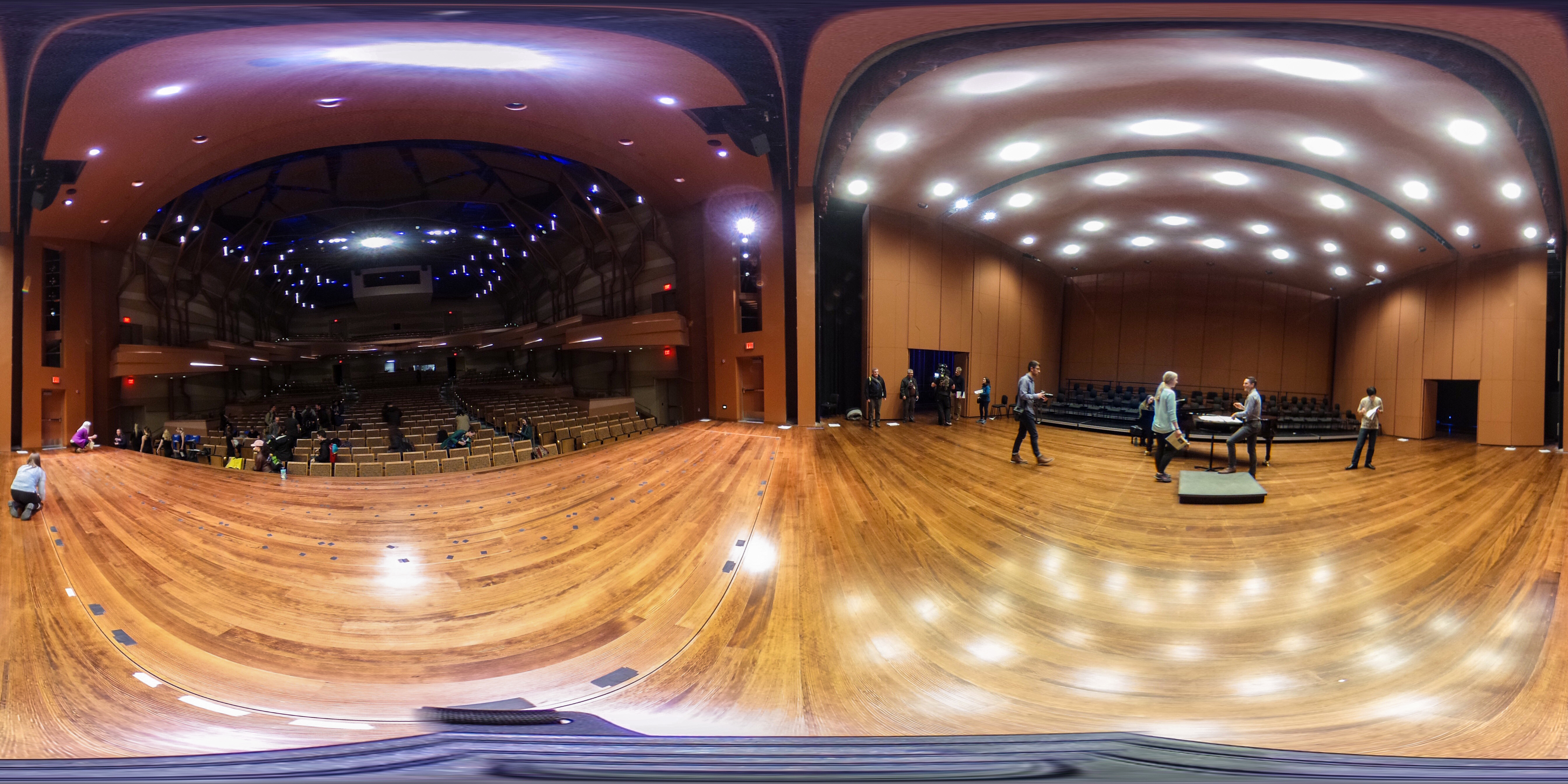 Woldson Performing Arts Center on stage