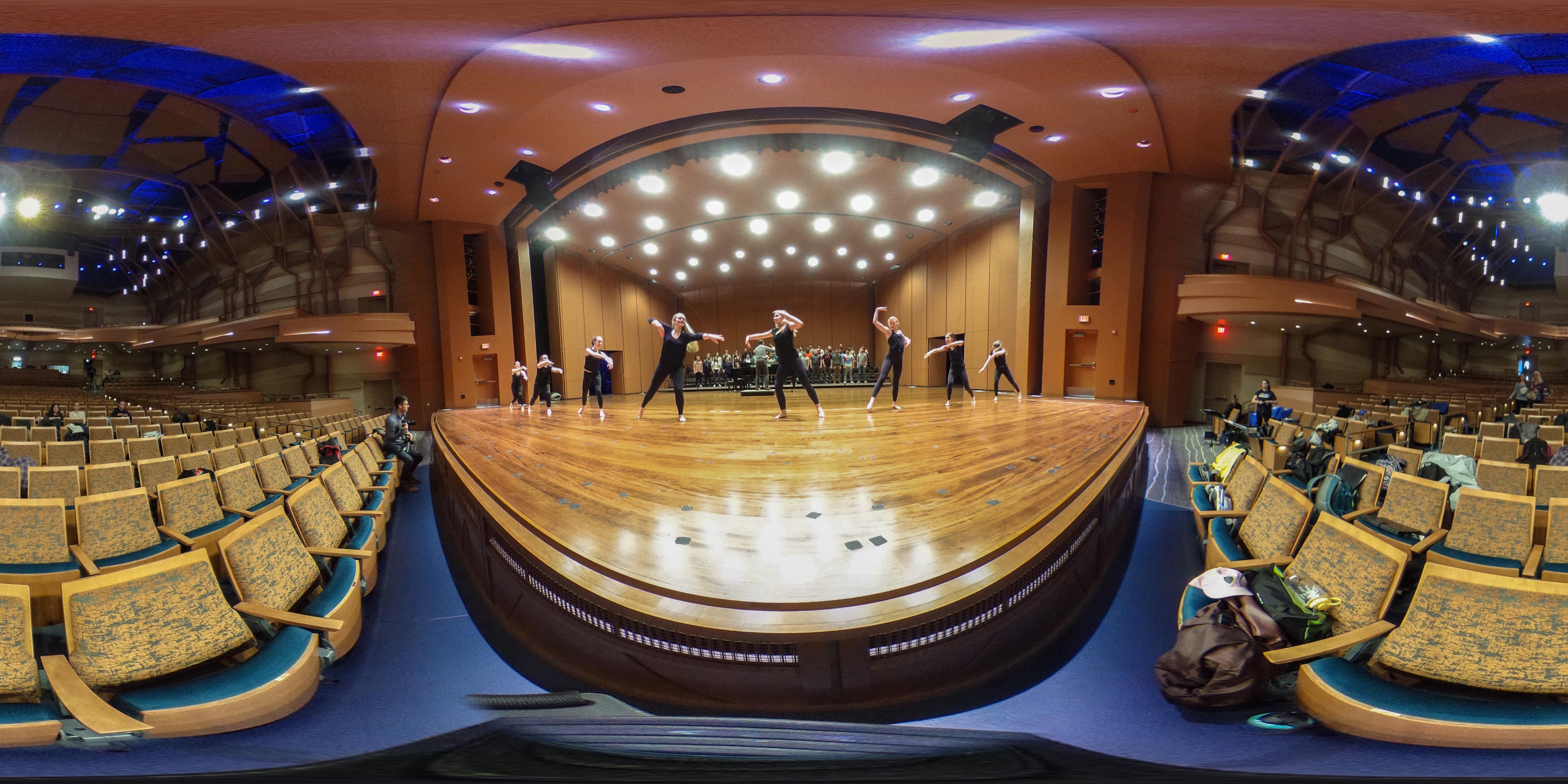 Gonzaga's Woldson Center auditorium