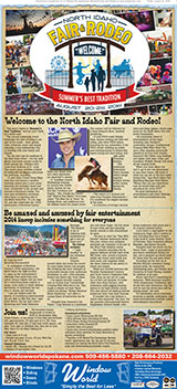 North Idaho Fair Rodeo 2014