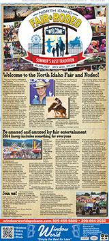 North Idaho Fair Rodeo 2014