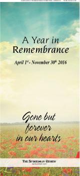 Jan 2016 Remembrance
