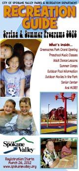 Spokane Valley Recreation Guide 2012
