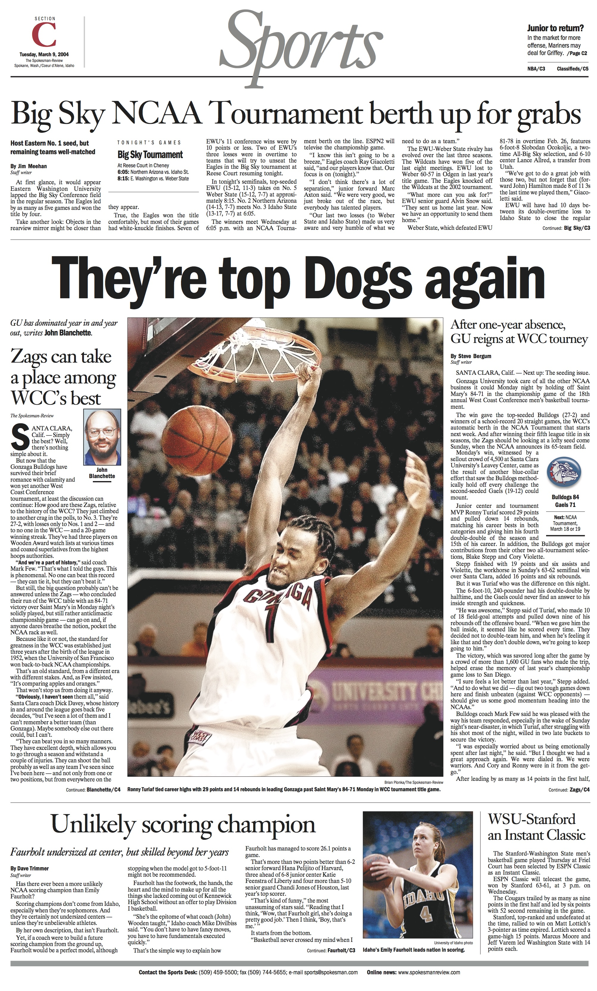 Historic page: Mar. 9, 2004