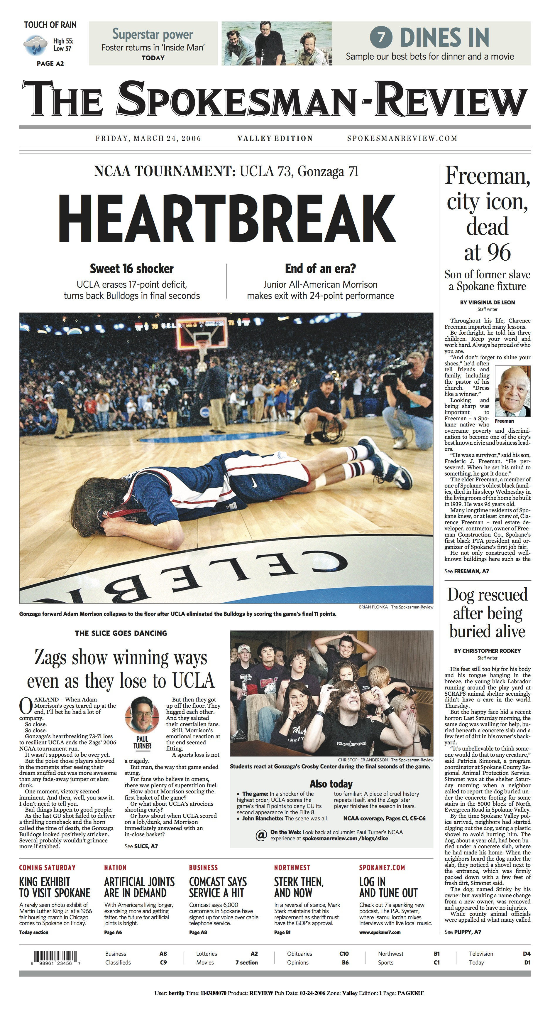 Historic page: Mar. 23, 2006