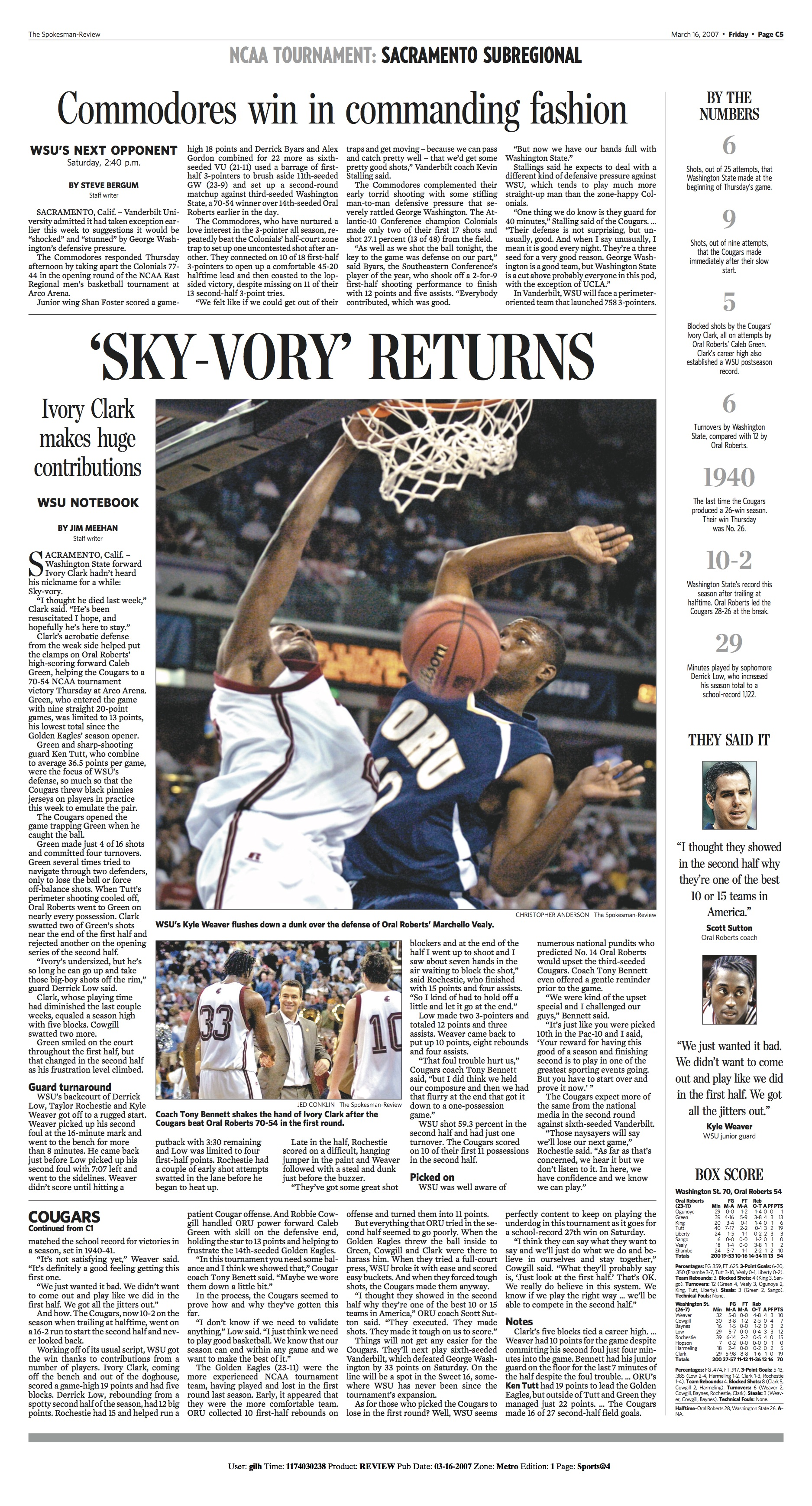 Historic page: Mar. 16, 2007