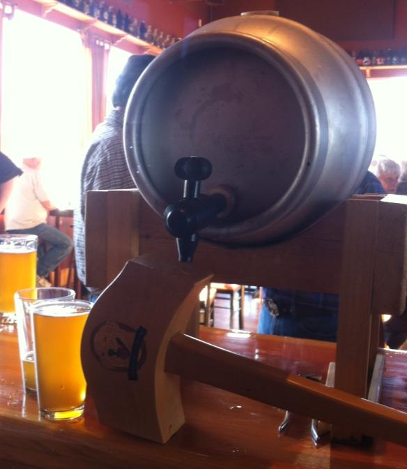 Laughing Dog firkin