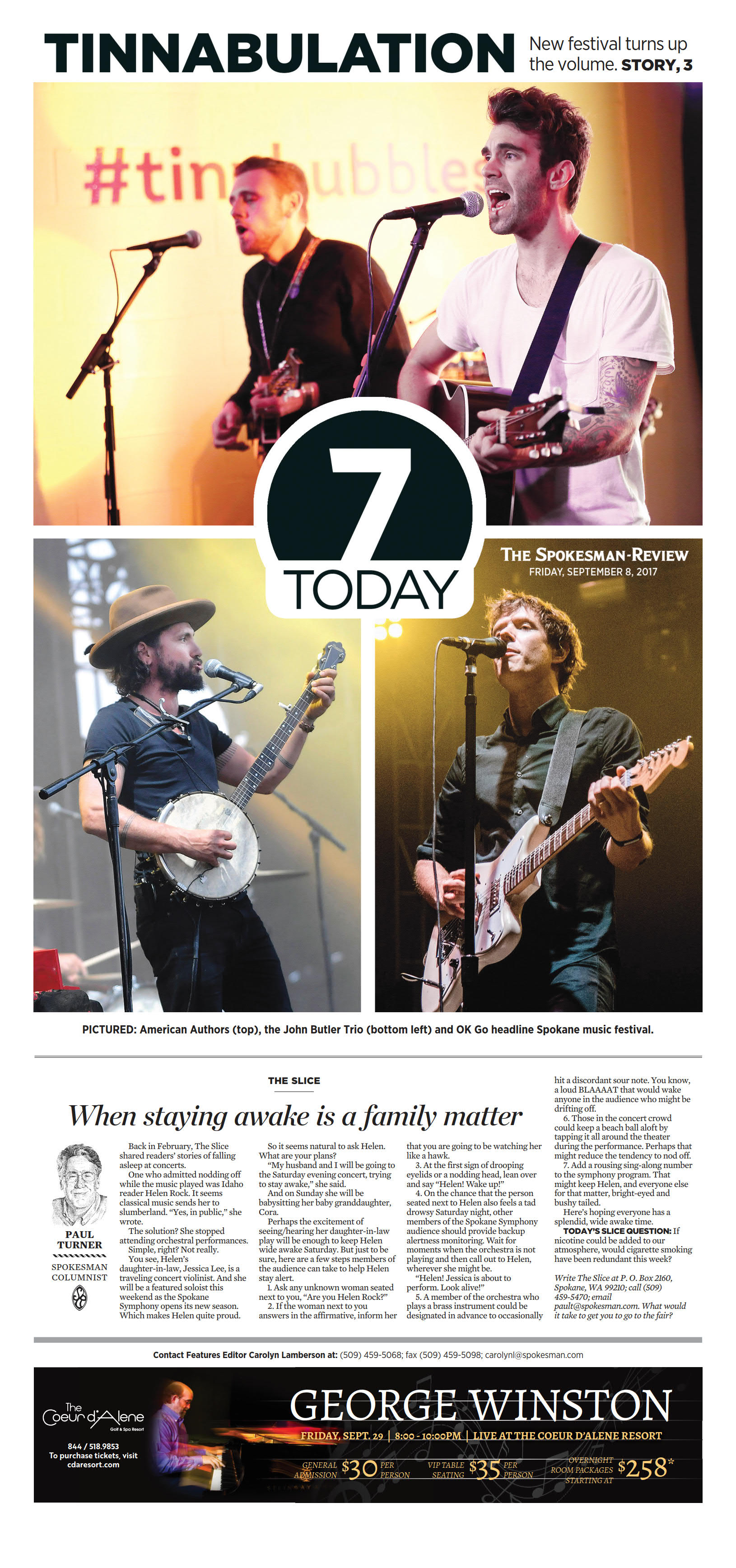 Front page for Sept  8, 2017 | The Spokesman-Review