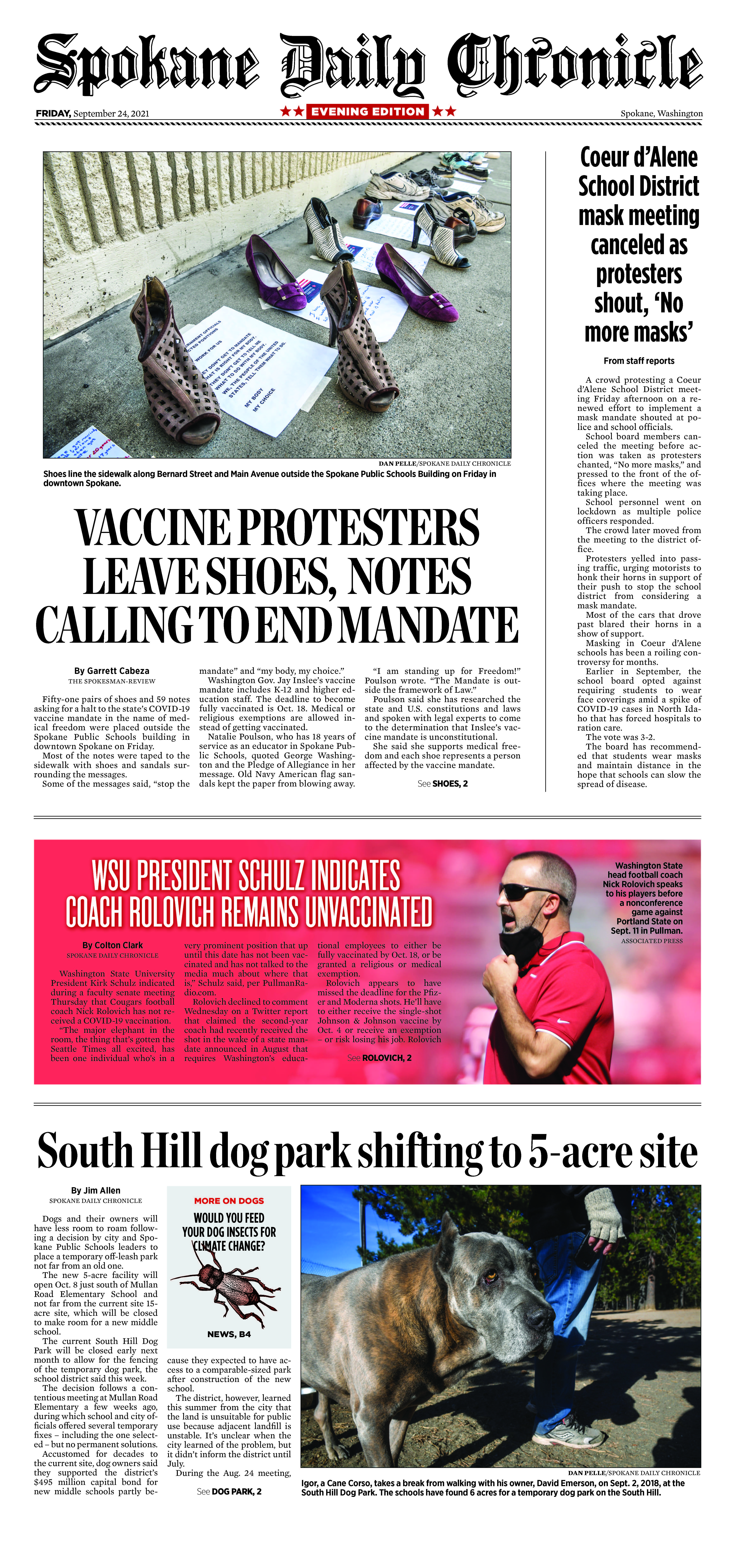 Frontpage for 2021-09-24