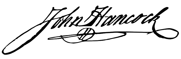 A signature so famous the name became slang for the word signature