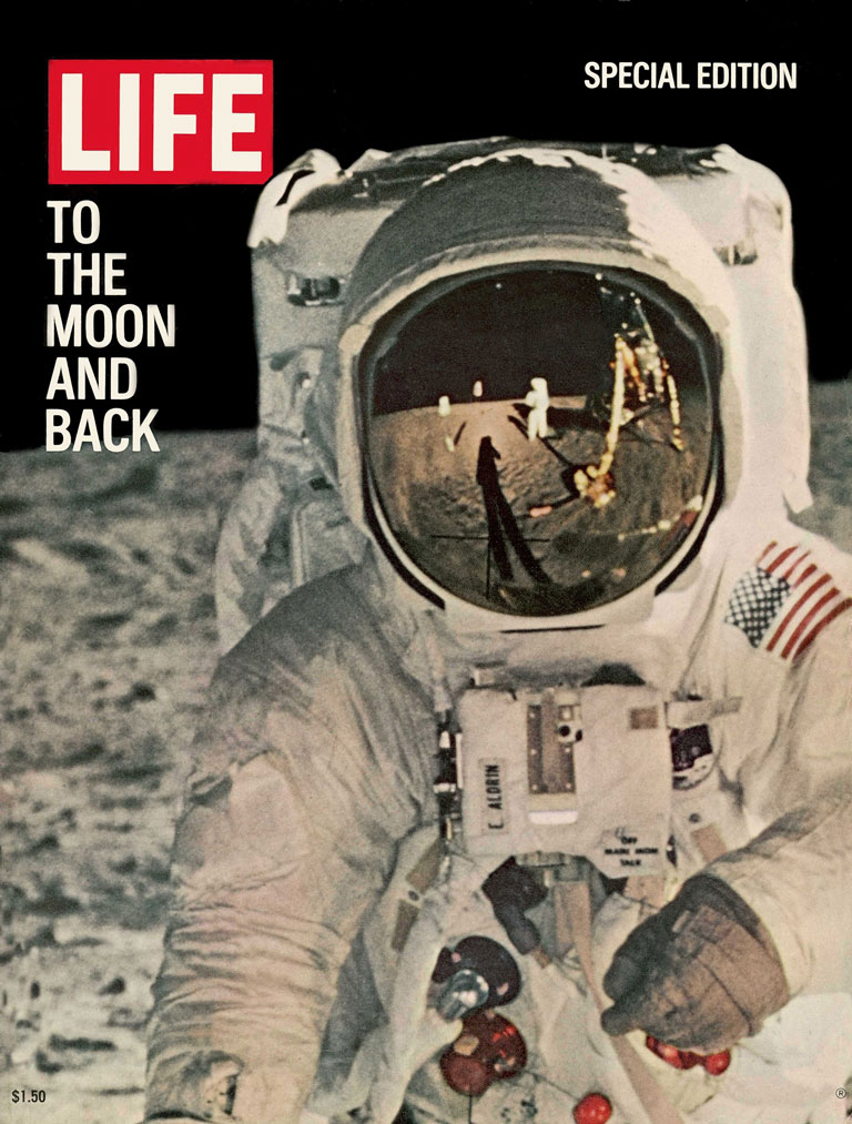 Life Magazine special edition, 'To the Moon and Back', 1969