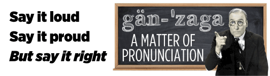 A matter of pronunciation
