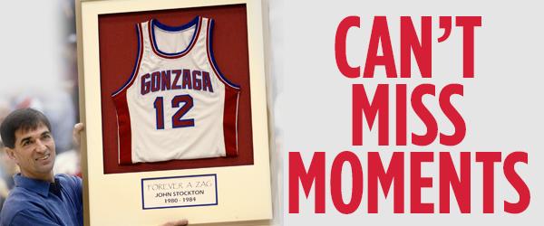 <b>Key moments:</b> Gonzaga basketball history