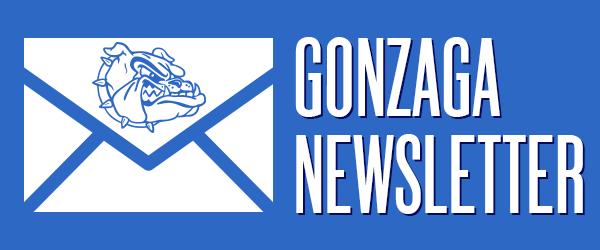 Gonzaga newsletter sign-up