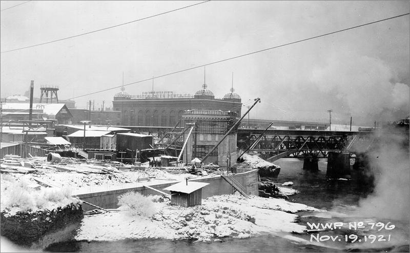 Upper Falls Power Station The Spokane River People