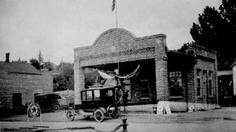 Looking back: Texaco Central Service Station, Rosalia, Wash , 1924