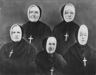 Mother Joseph and sisters