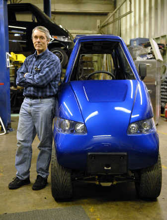Rick Woodbury Of Commuter Cars Is Producing A Line Ultrathin Electric Near Downtown Spokane