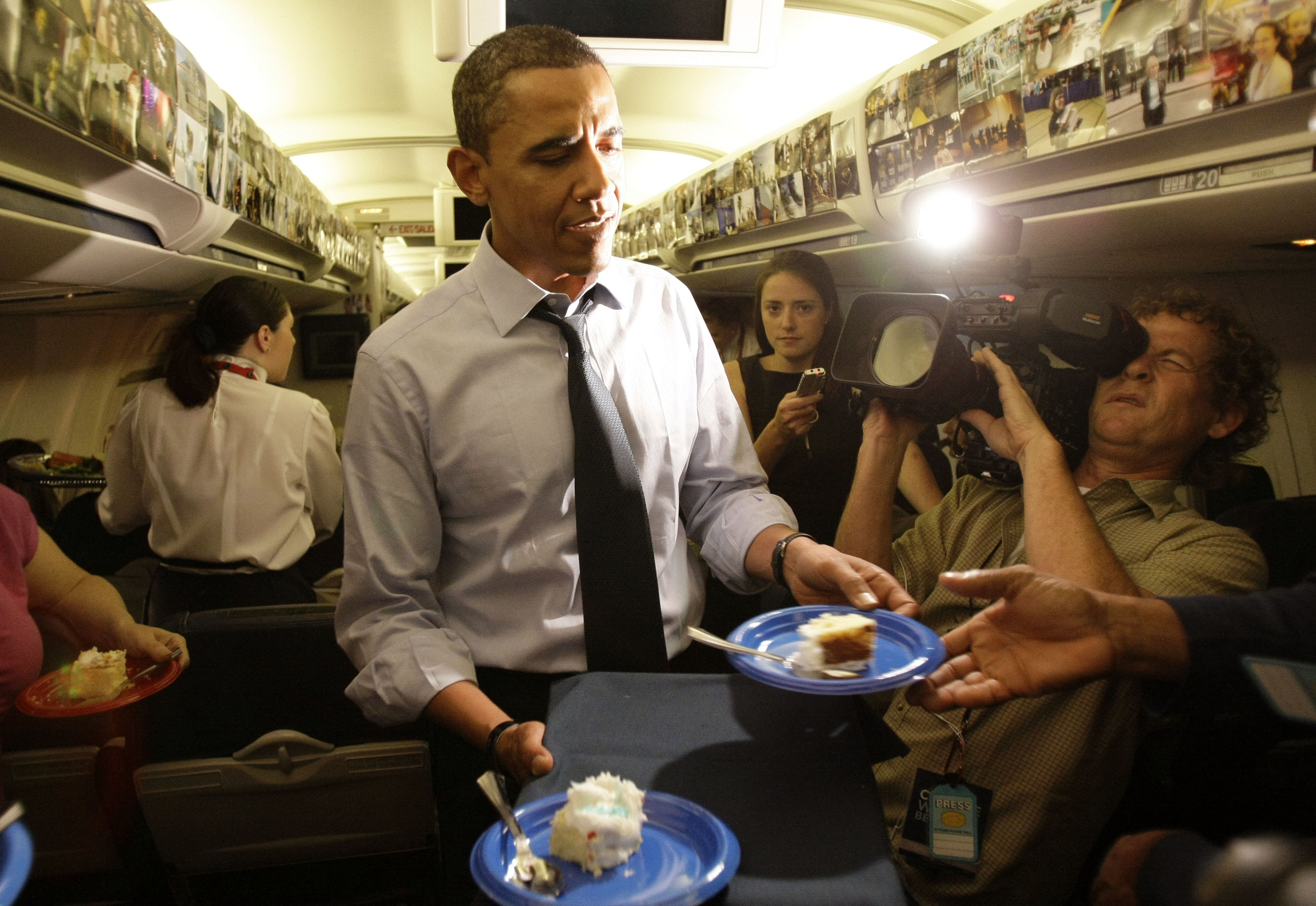 Astonishing A Not So Modest Obama Birthday Wish The Spokesman Review Funny Birthday Cards Online Inifodamsfinfo