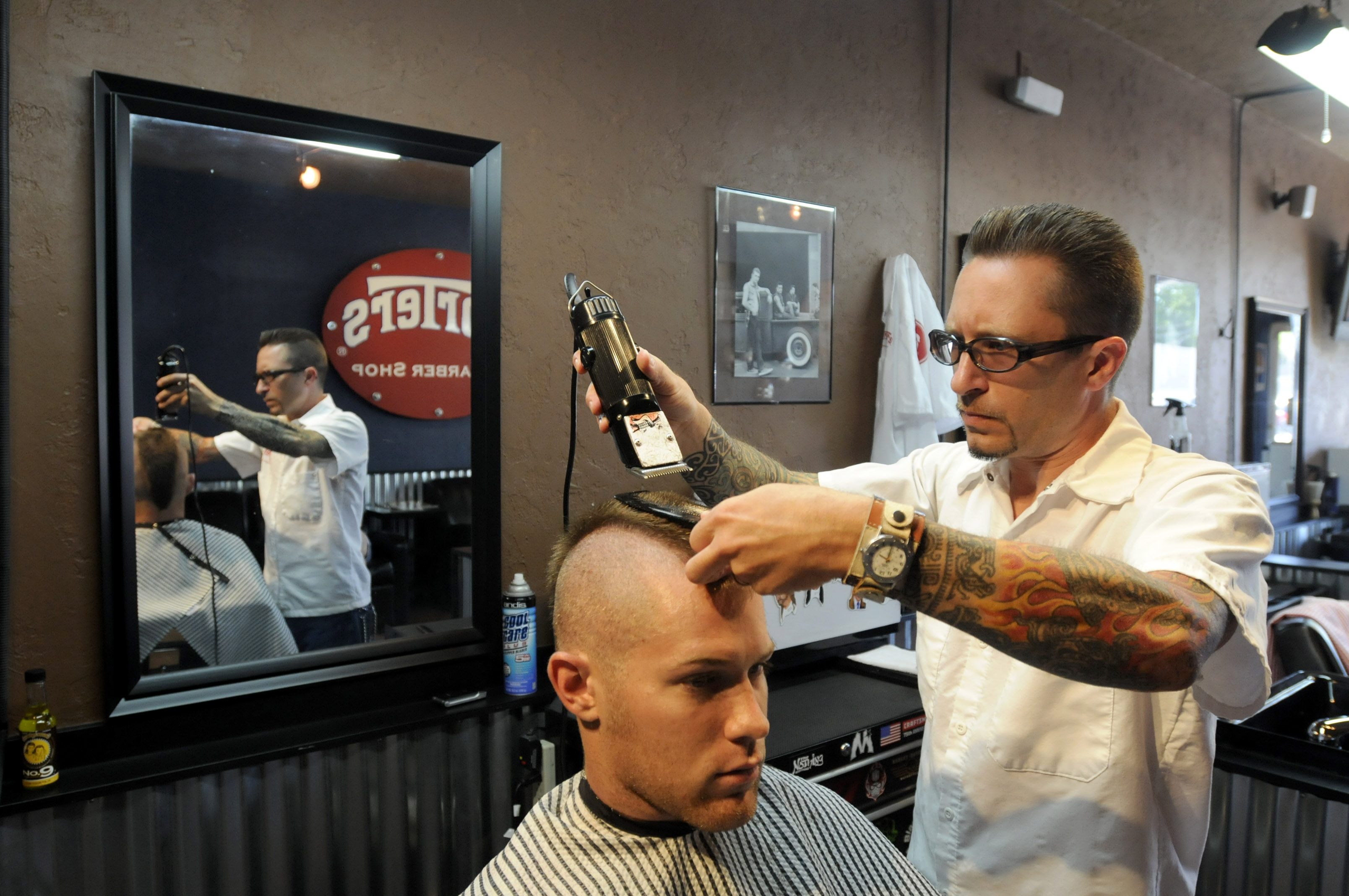 Barbers Offer Nostalgia With Style The Spokesman Review