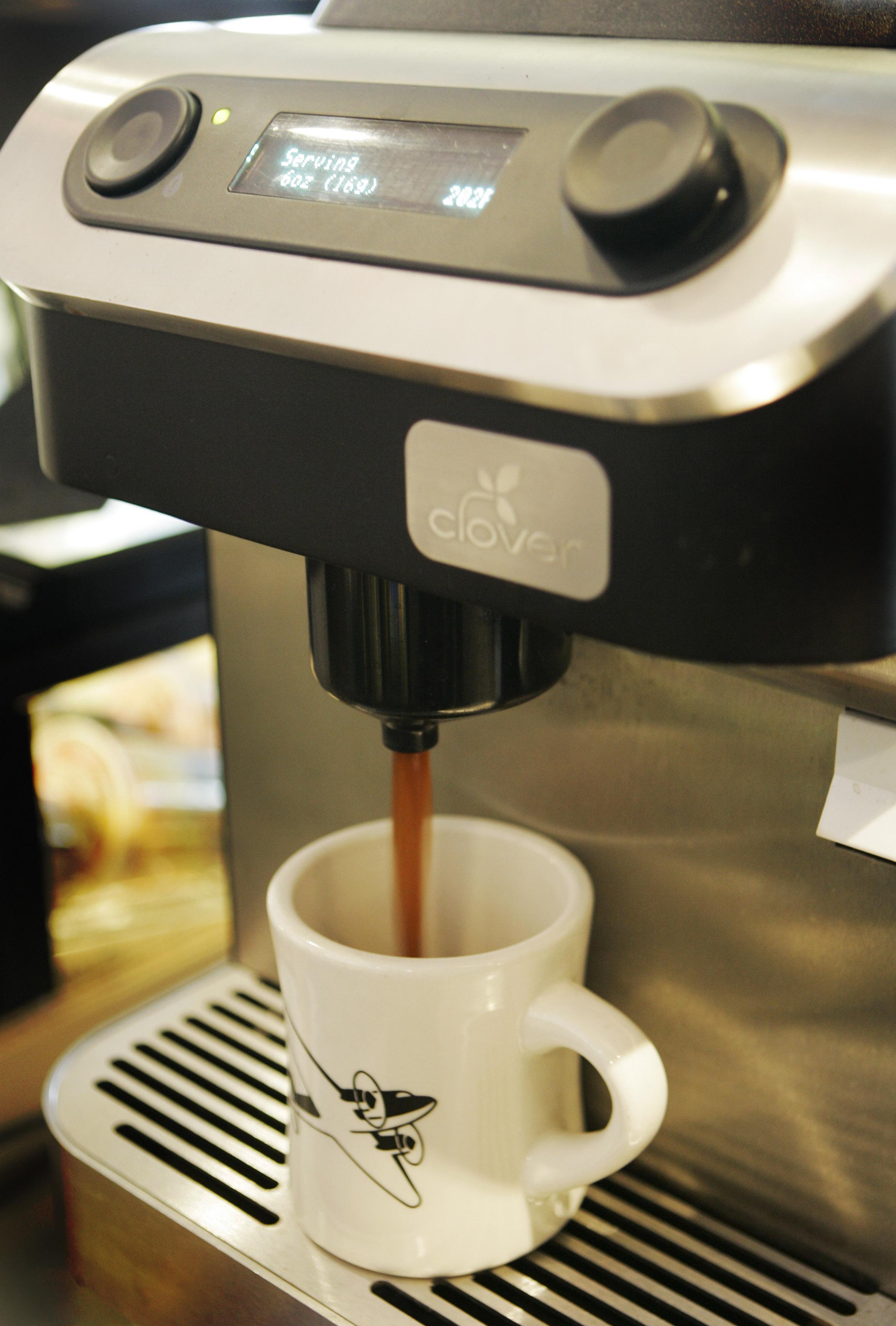 Clover Makes Starbucks Debut The Spokesman Review