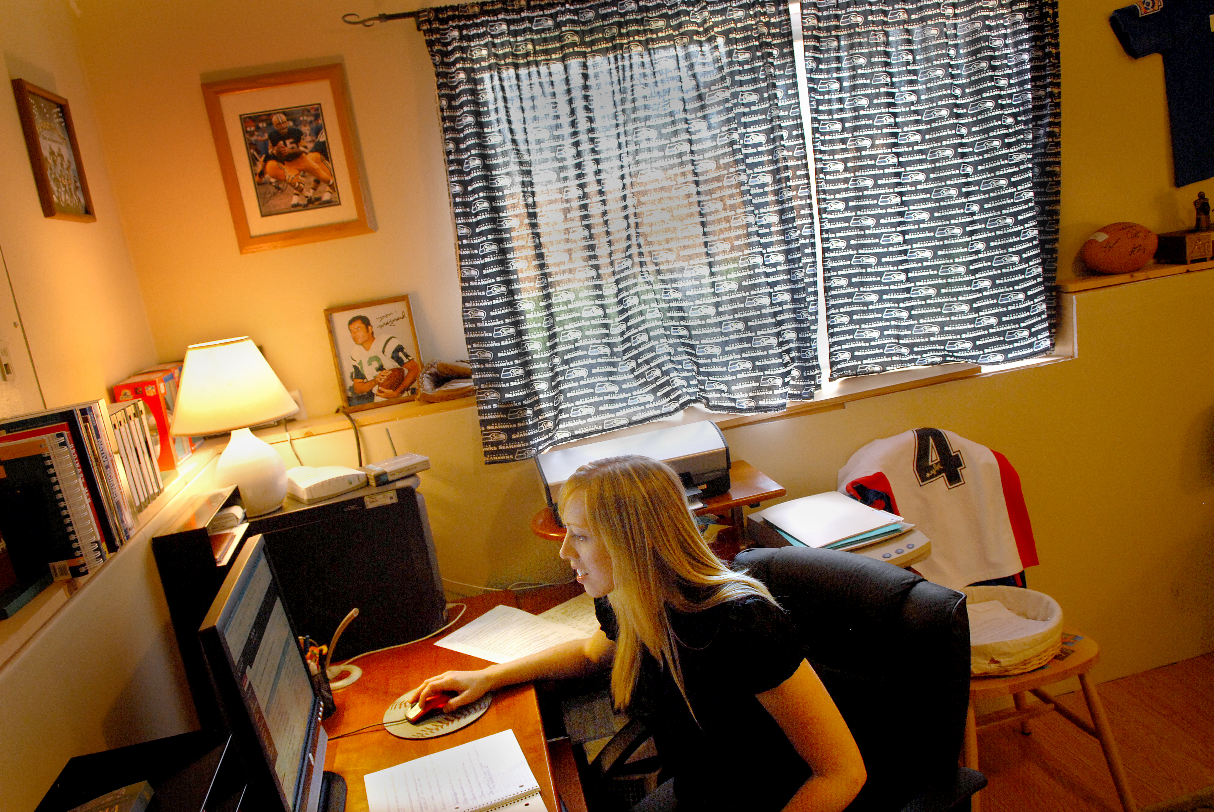 Heather Campbell, Who Home Schools Her Two Children, Also Works At Home  Toward