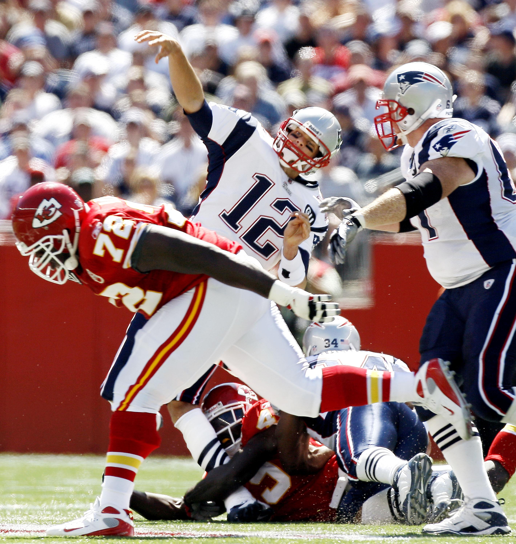 Lesión de Tom Brady en 2008.