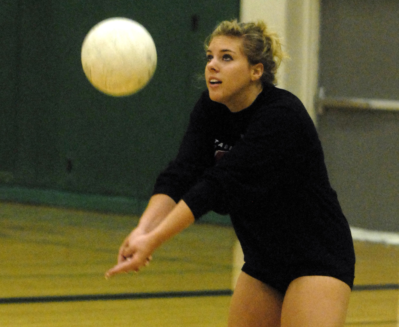 Alyssa Ruland tough competition at the net | the spokesman-review