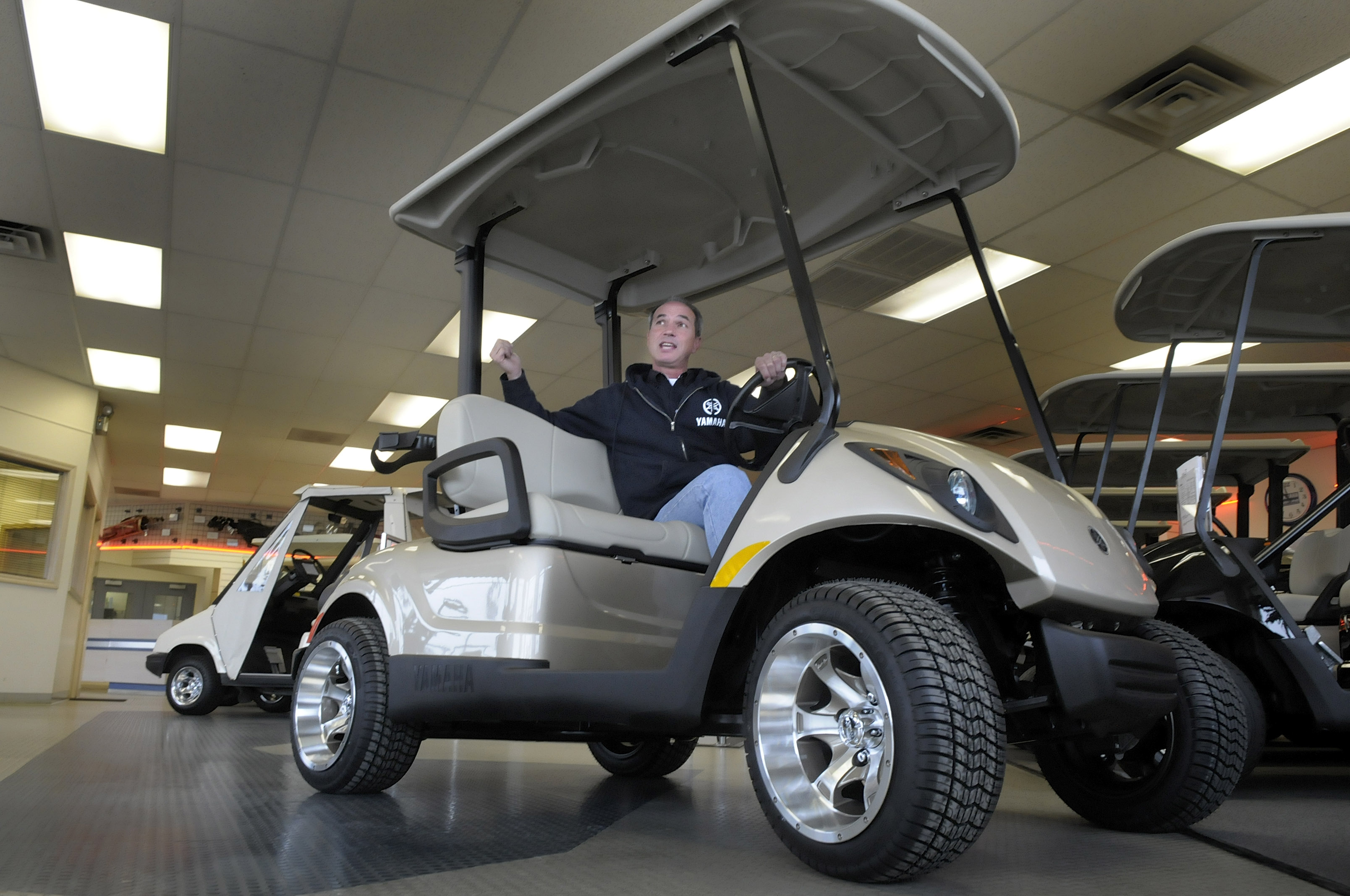 Remy Osso Of Northwest Golf Cars Explains The Benefits Owning A Road Legal Electric
