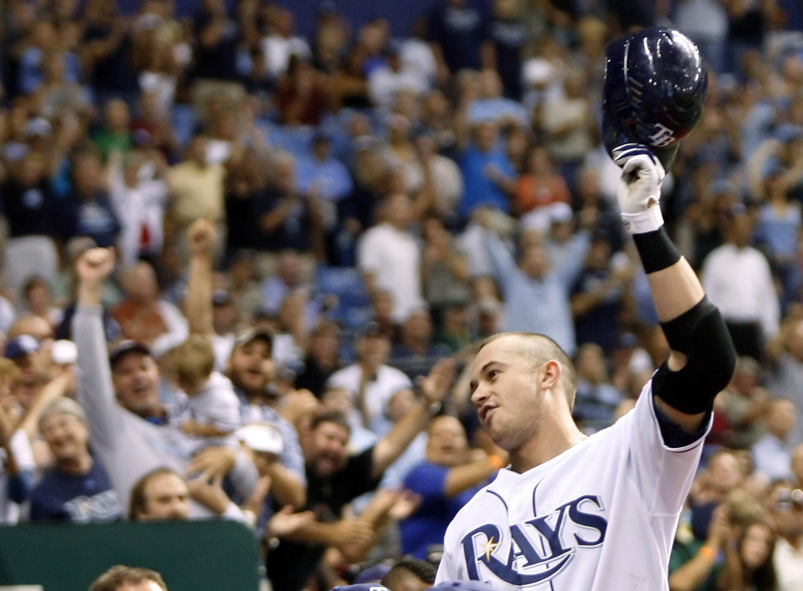 Evan Longoria Was Unanimously Voted AL Rookie Of The Year Associated Press