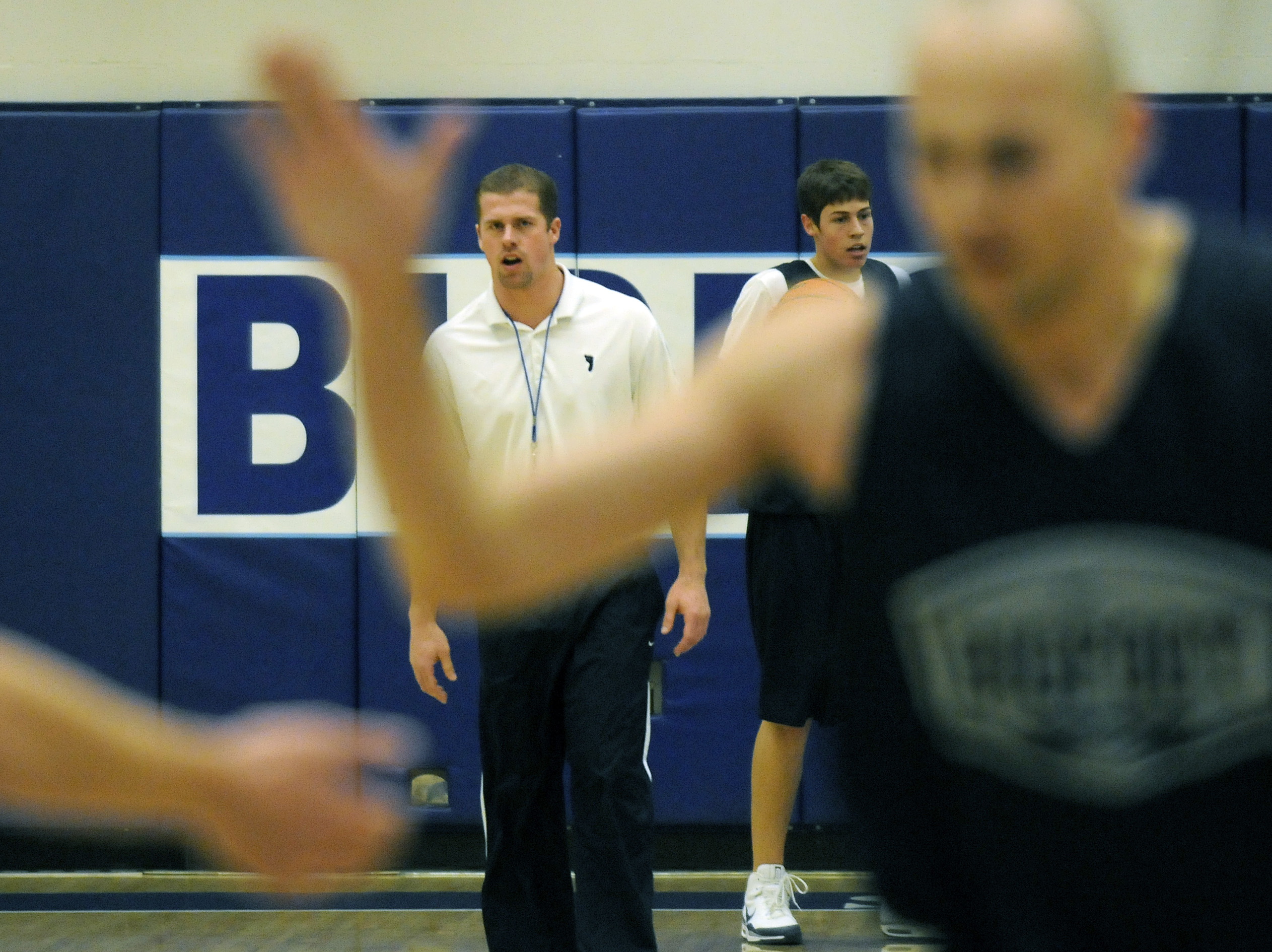New Community Colleges Of Spokane Mens Basketball Coach Clint Hull Followed A Circuitous Route To The