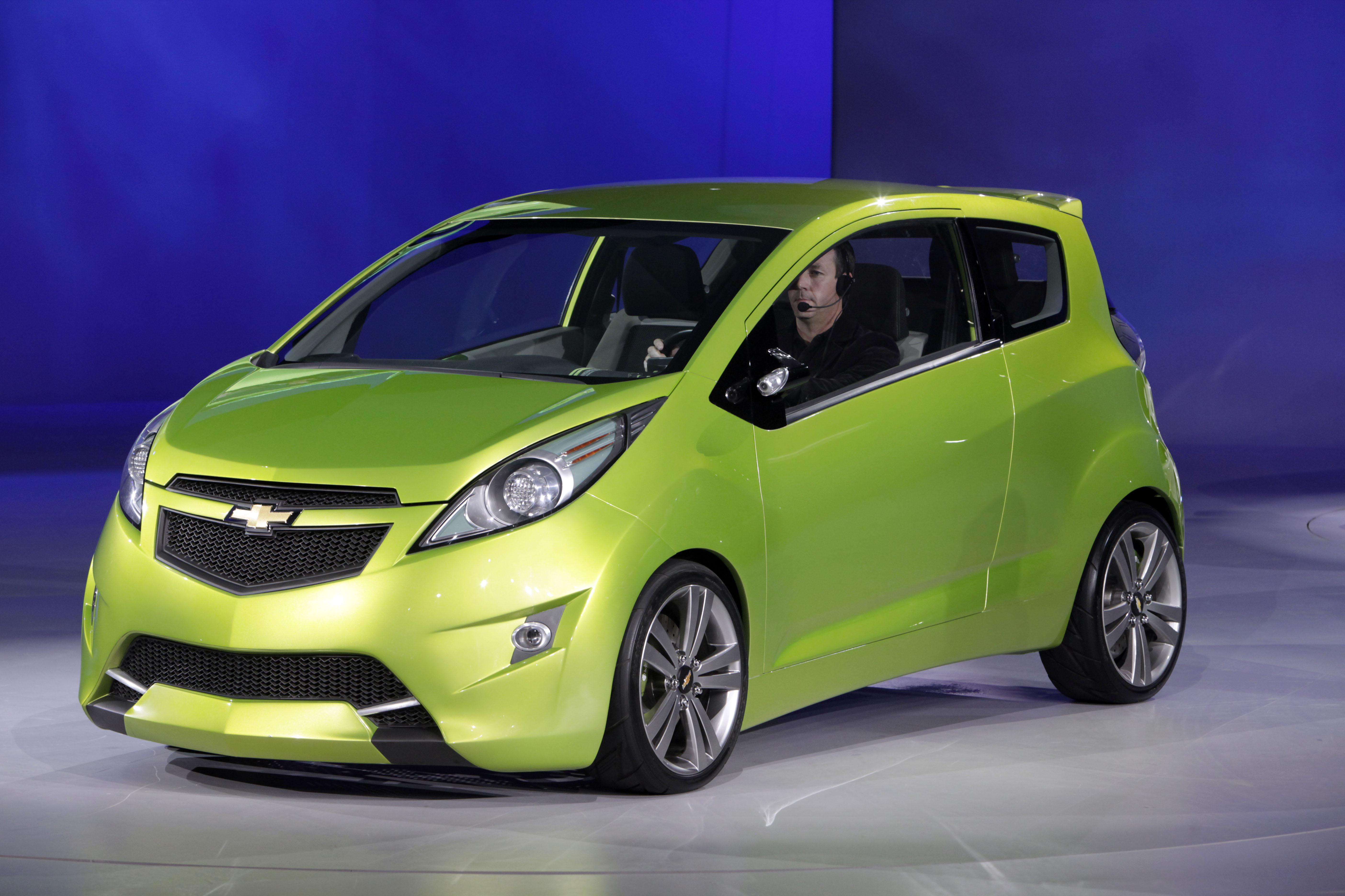 This File Photo From January Shows The Chevrolet Beat Concept Car Which Will Be Introduced