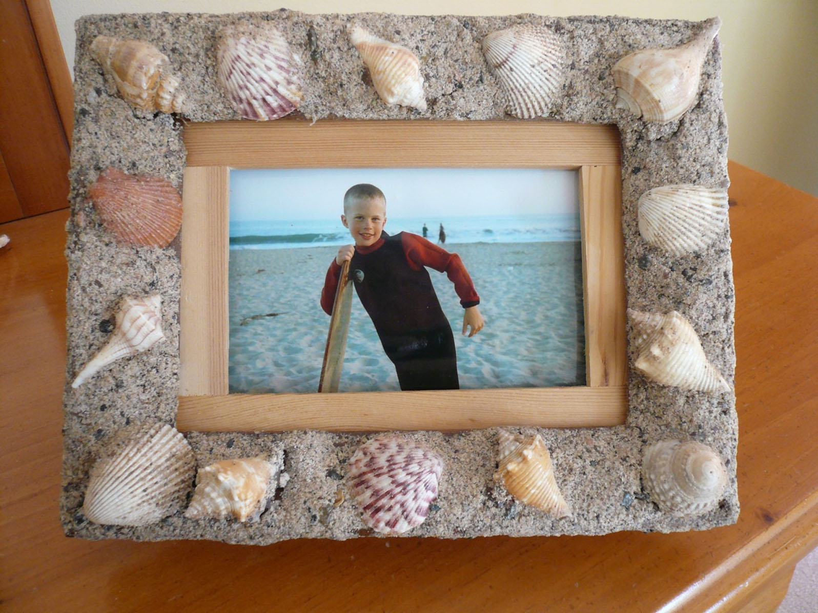 Turn sand into crazy clay the spokesman review sand clay can be used to create decorative and memorable frames king features king jeuxipadfo Choice Image
