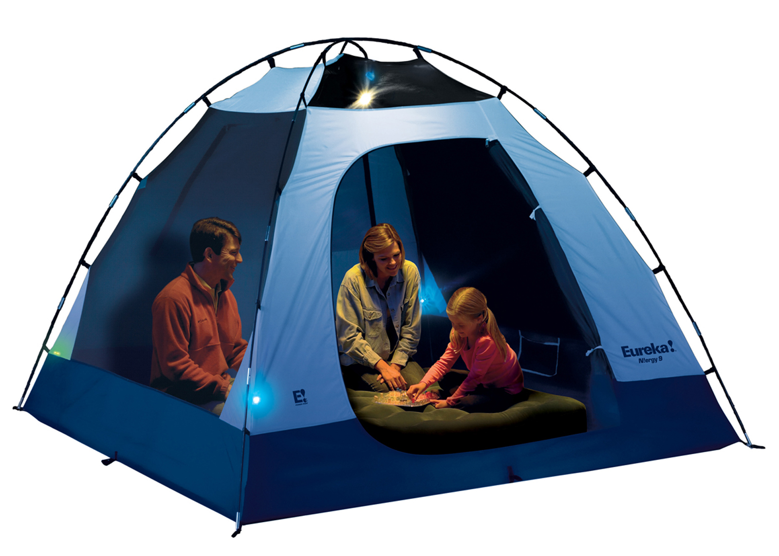 The Eureka N!ergy 9 tent is compatible with the companyu0027s E! Power Pack  sc 1 st  The Spokesman-Review & Sleep on this tent review | The Spokesman-Review