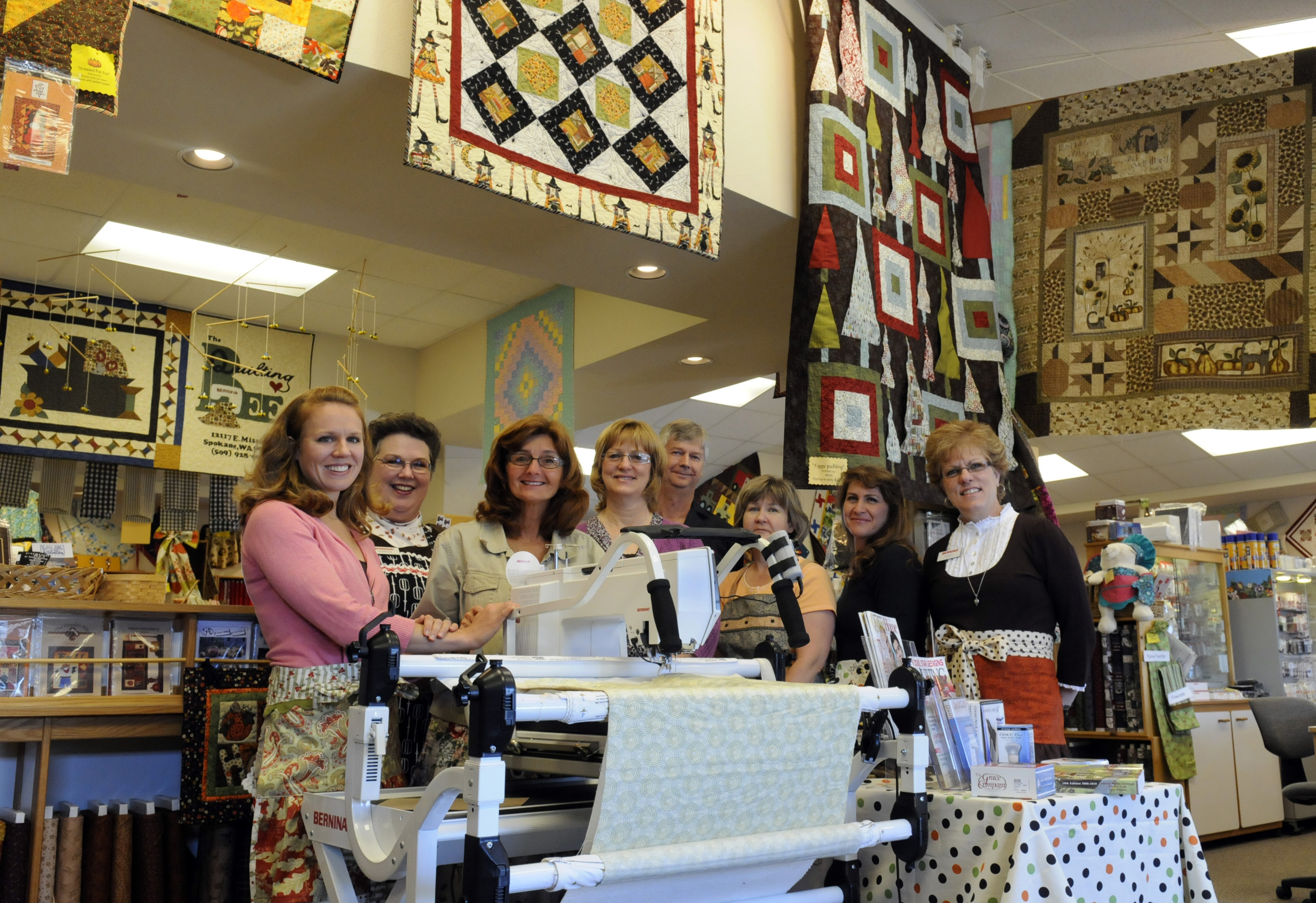 25 years of keeping customers in stitches   The Spokesman-Review : quilting bee spokane - Adamdwight.com