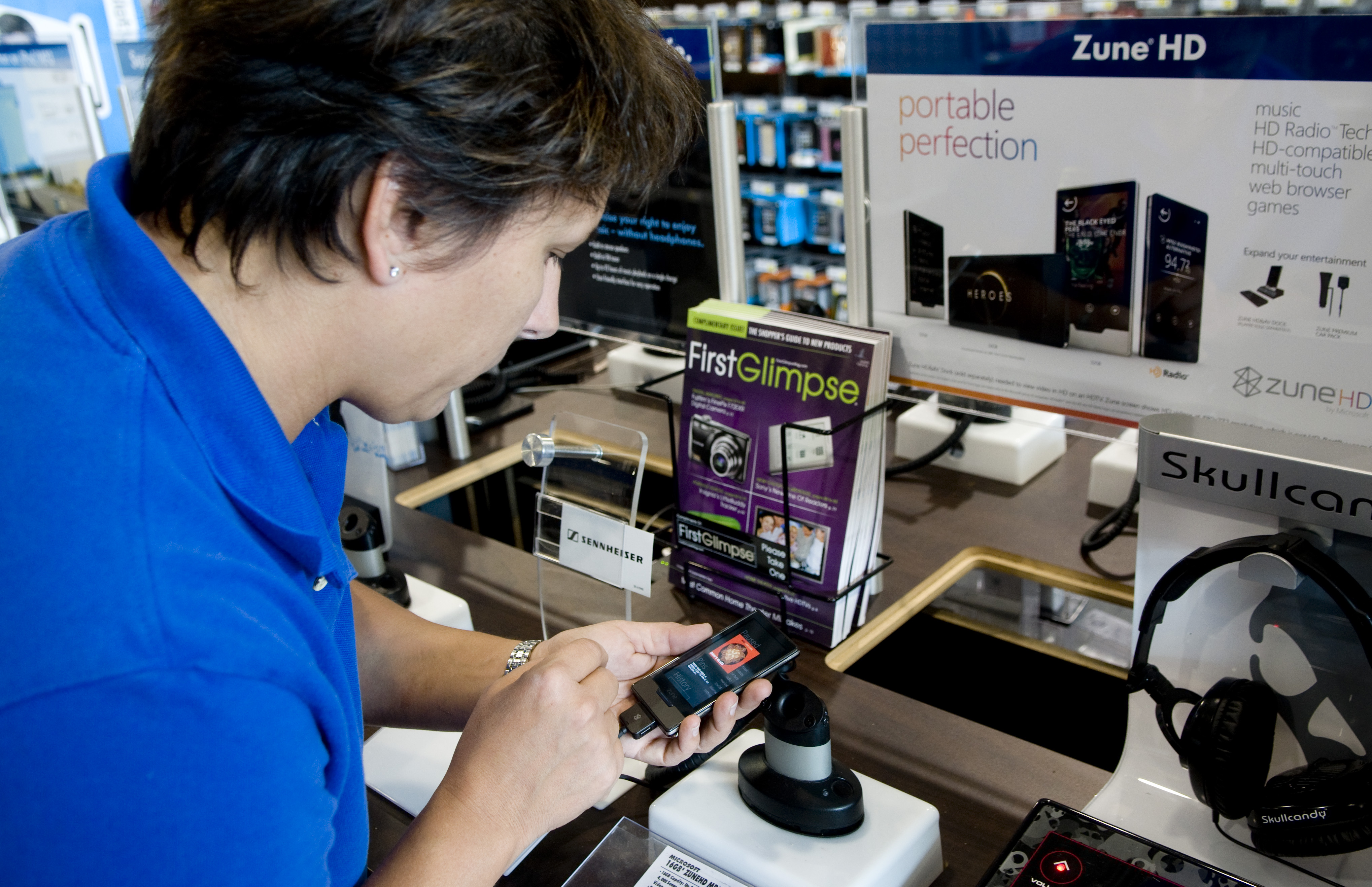Zune makes gains but not there yet | The Spokesman-Review