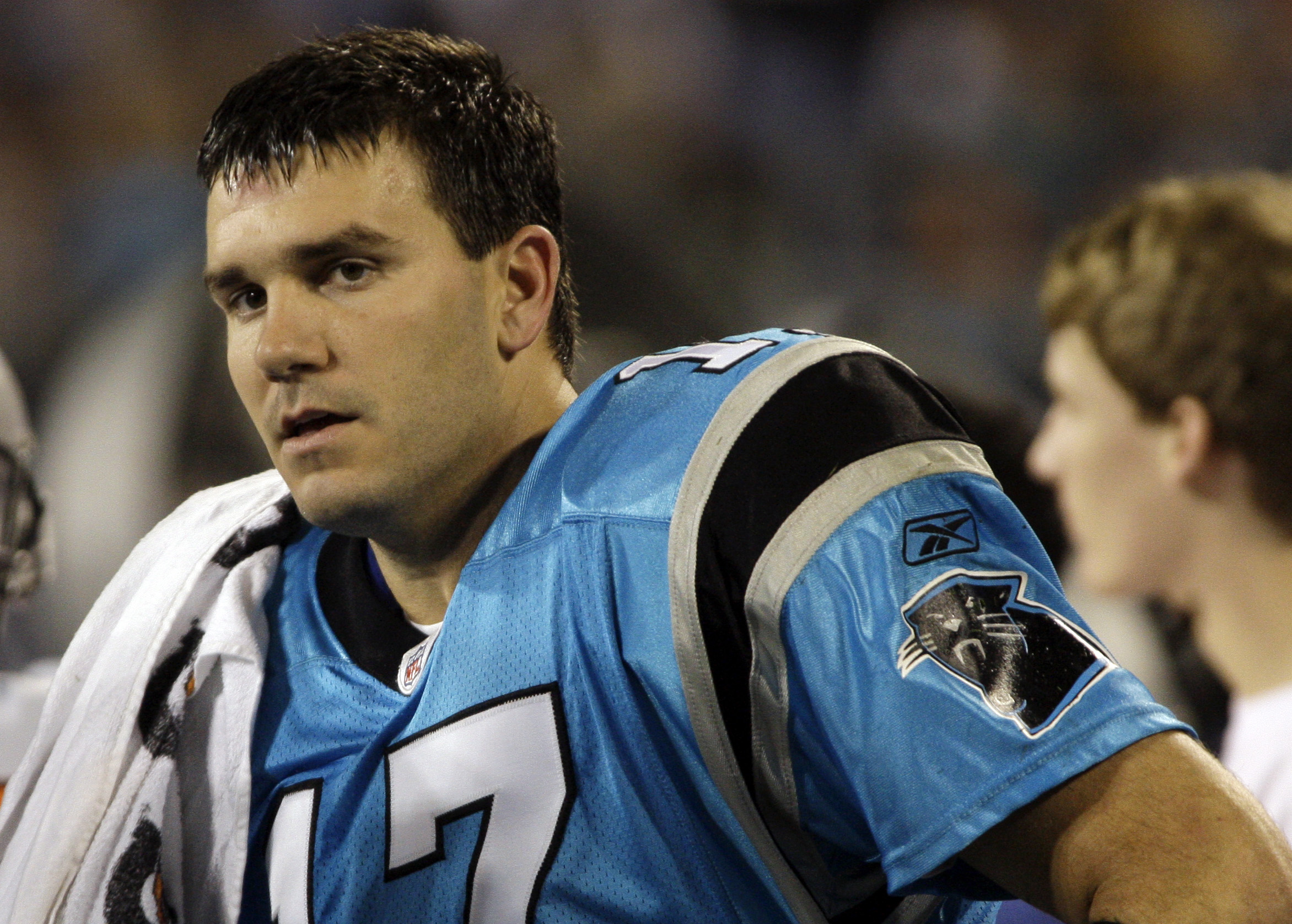 f7b2fee949c Carolina QB Jake Delhomme has been shelved for the season. (Associated  Press)