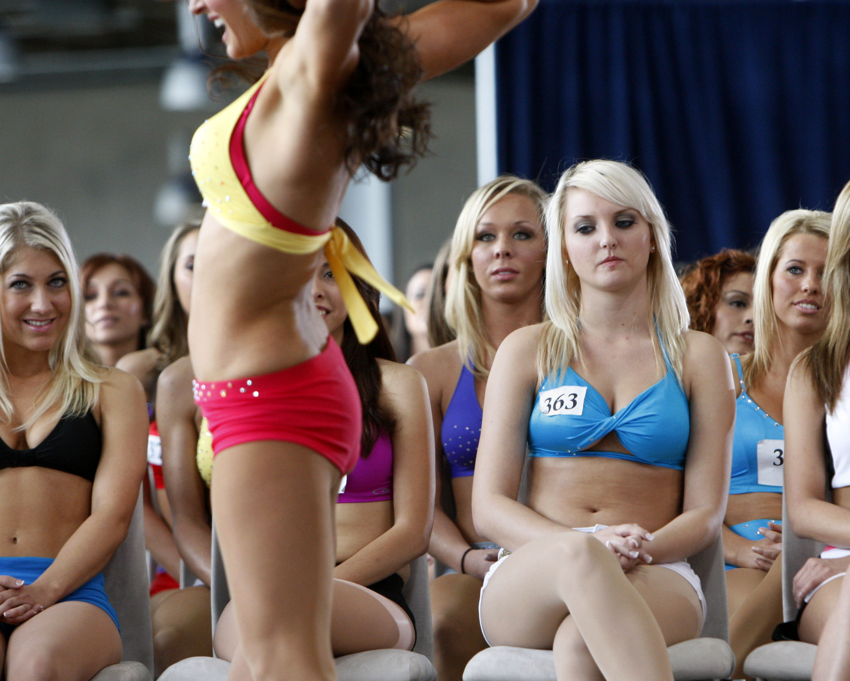 Dating a dallas cowboy cheerleader auditions. Dating for one night.