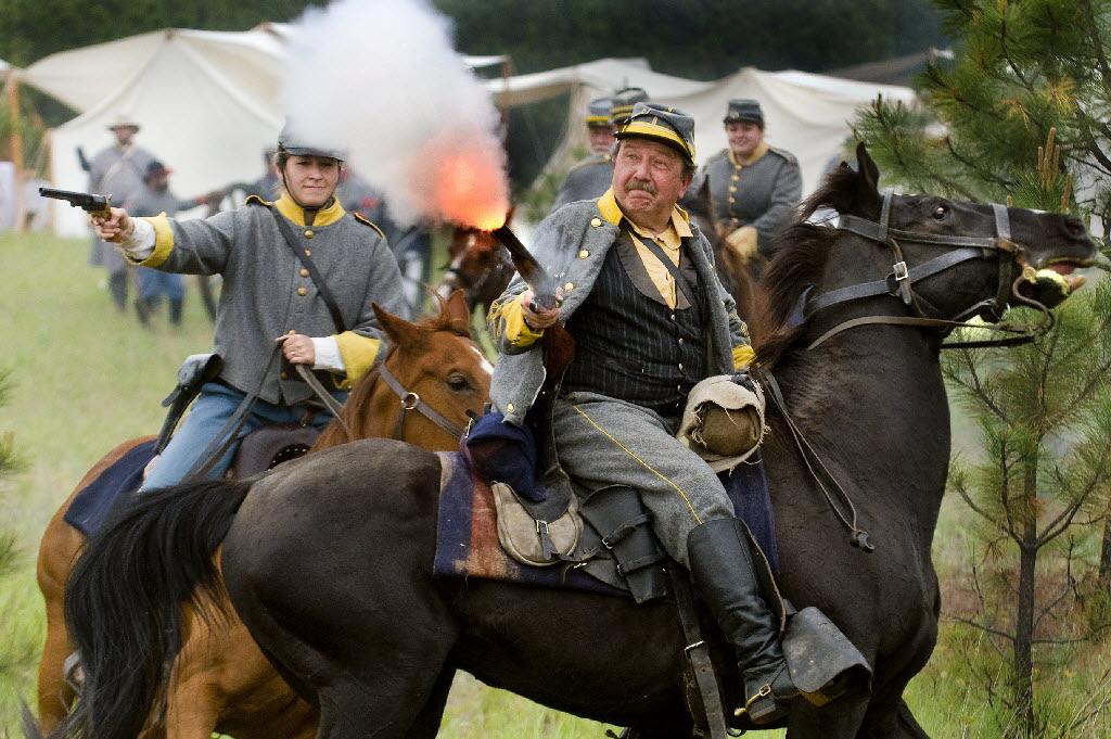 Civil War rages again at annual encampment   The Spokesman ...