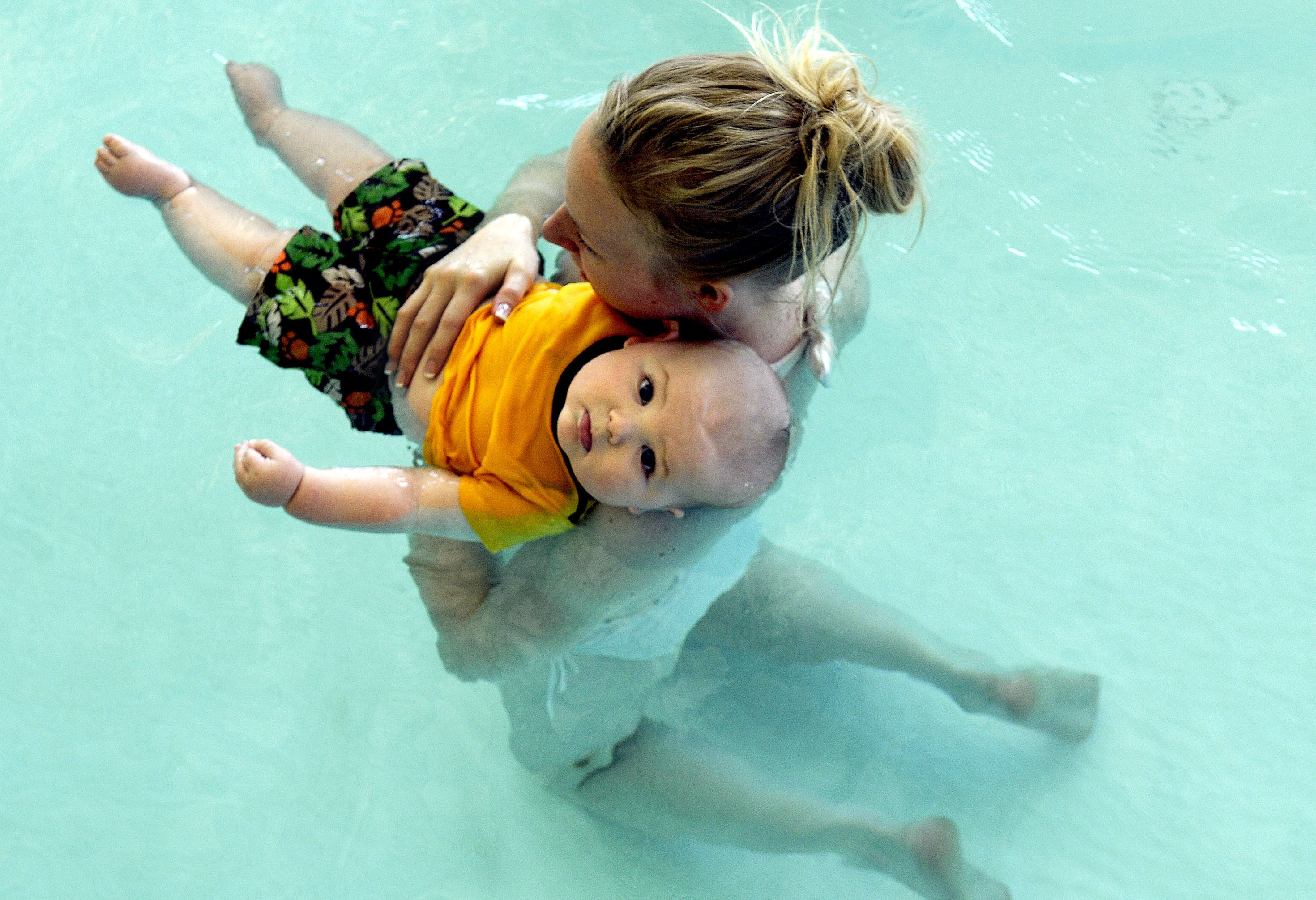 Babies, toddlers, learn water ways   The Spokesman-Review