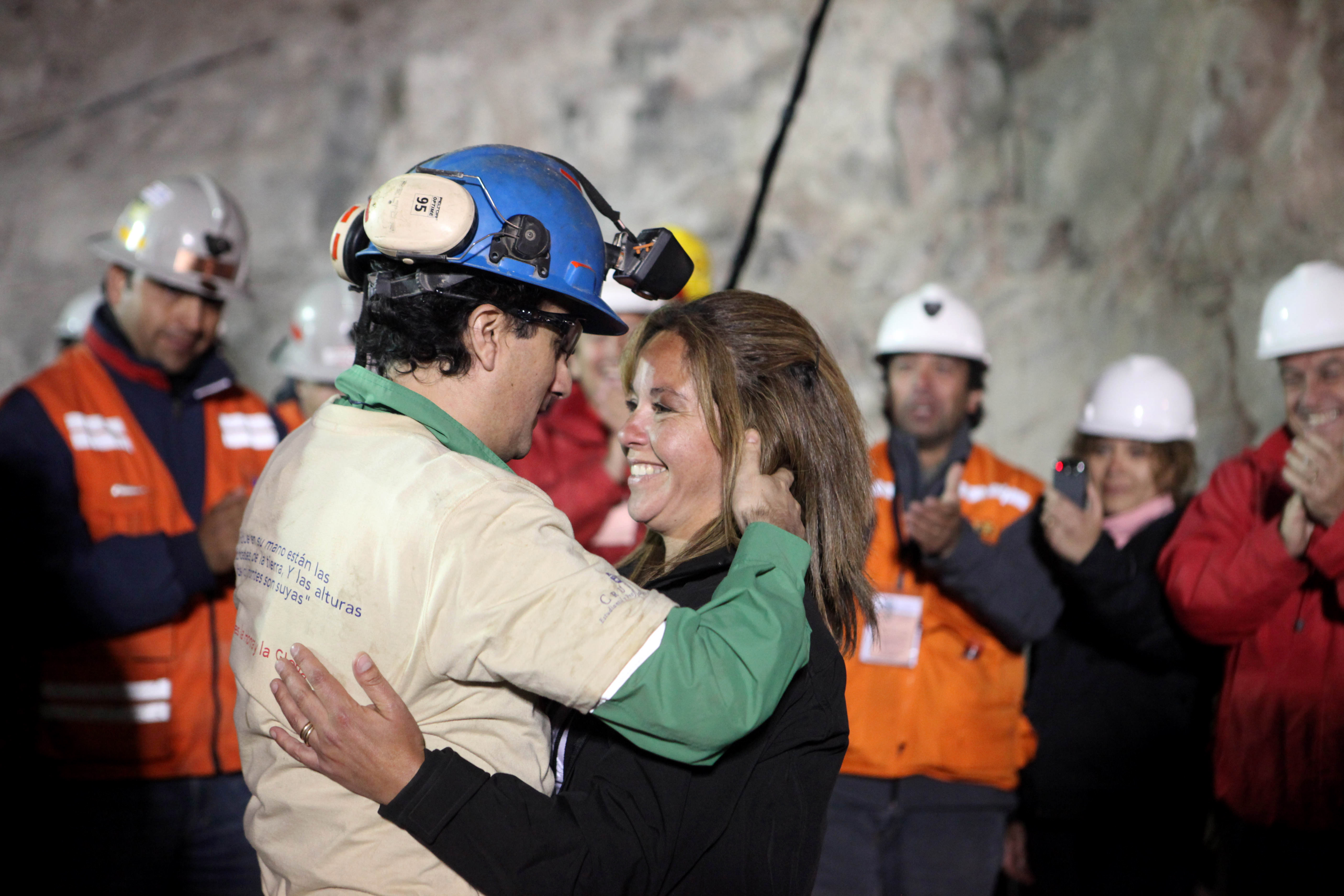 the san jose mine collapse in chile Mario sepulveda - nicknamed super mario by fellow captive miners for his indomitable spirit - was among the 33 stuck 2,300ft underground after a mine collapse in san jose, chile in 2010 afp or.