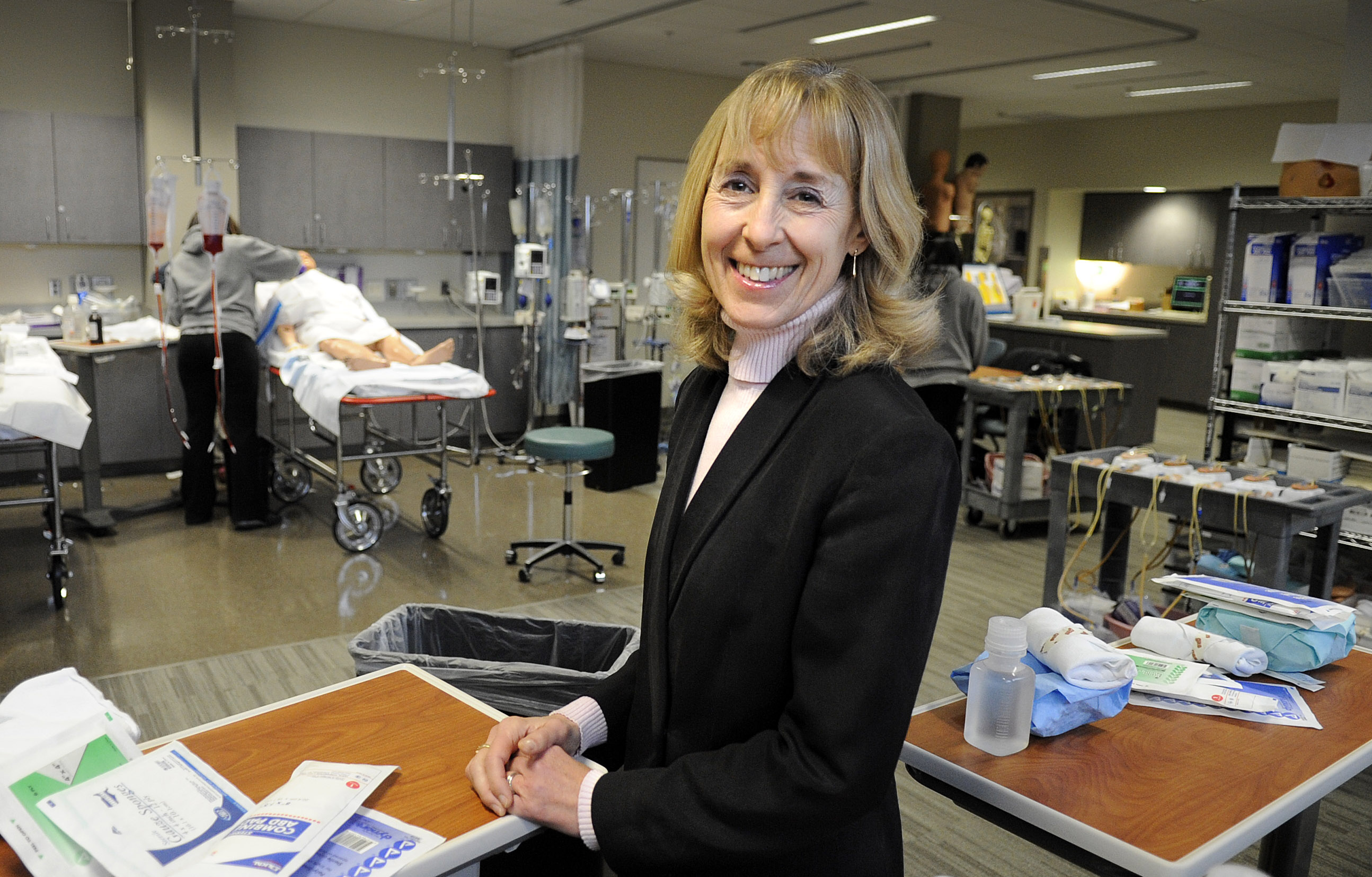 Wsu Associate Dean Says Nursing Can Be Healthy Career Choice The