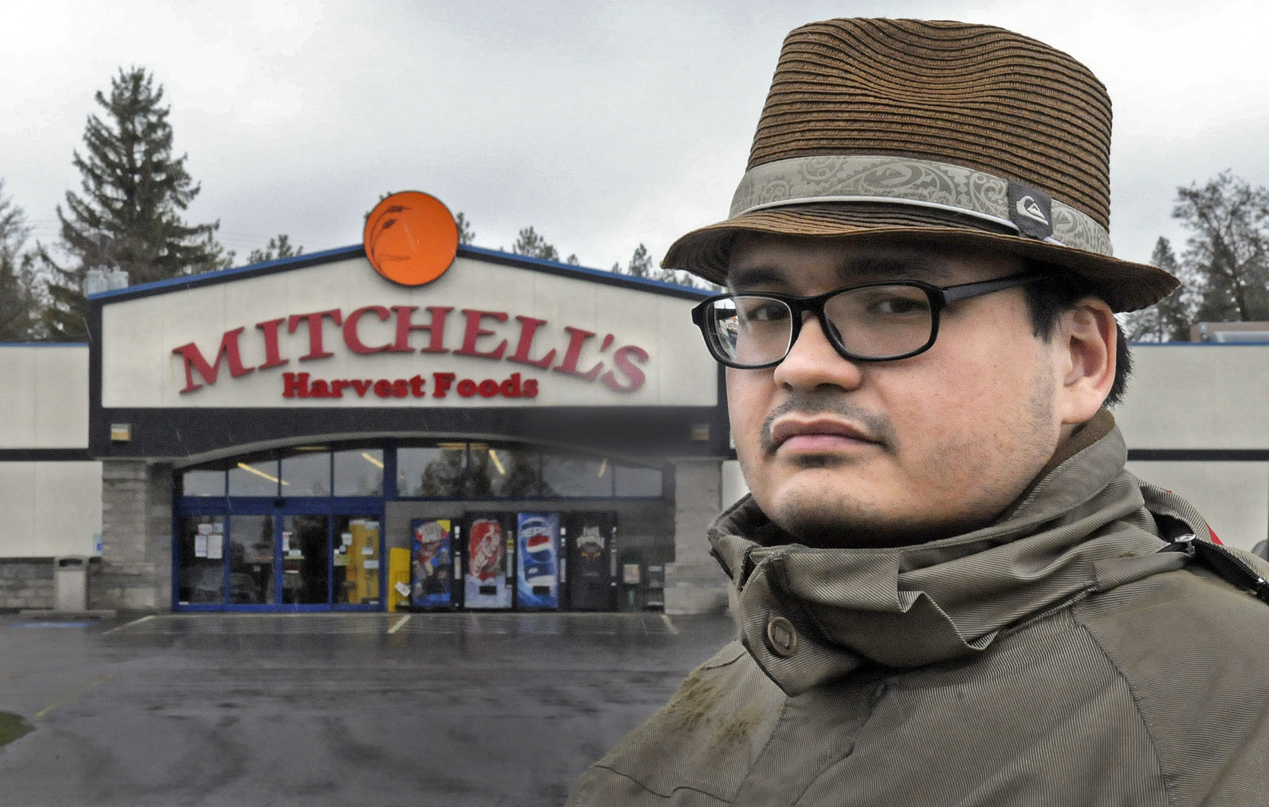 John Richardson Stands Across The Street From Mitchells IGA In Cheney Where He Was Taken To