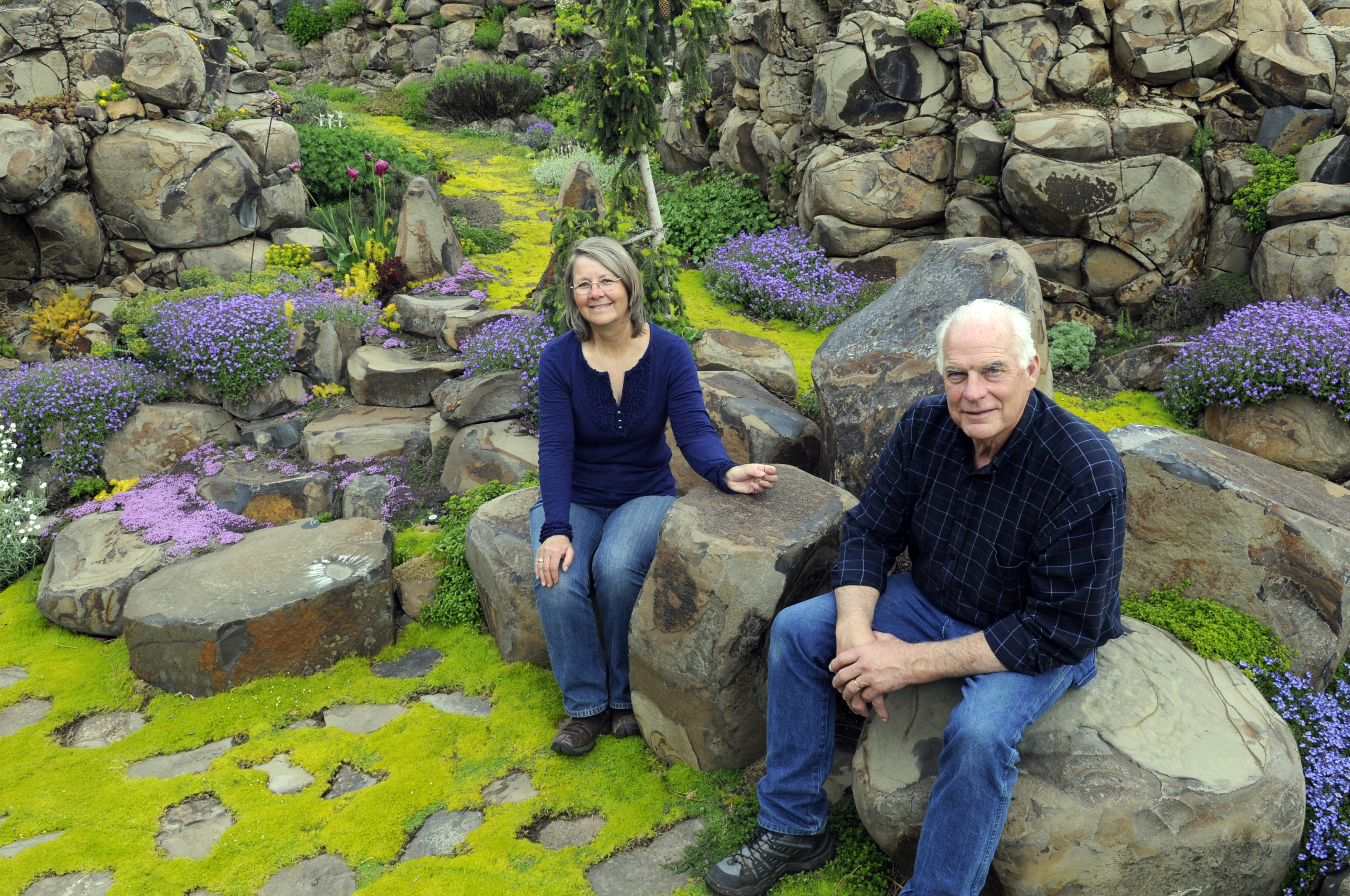 Basalt Rock Gardening : Expect quite a show at upcoming garden tour the