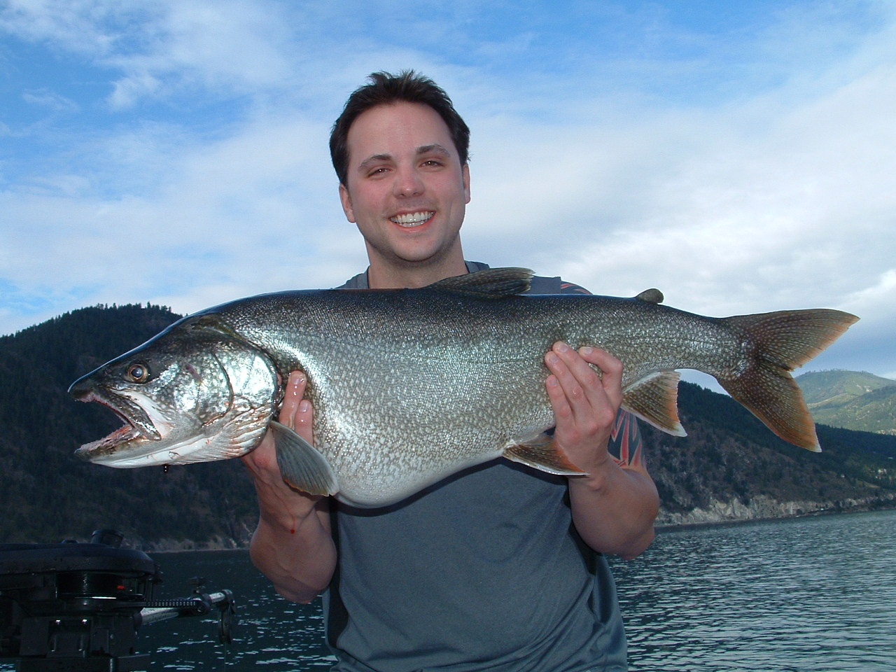 Mariners can really score when fishing for lake trout for Big fish seattle