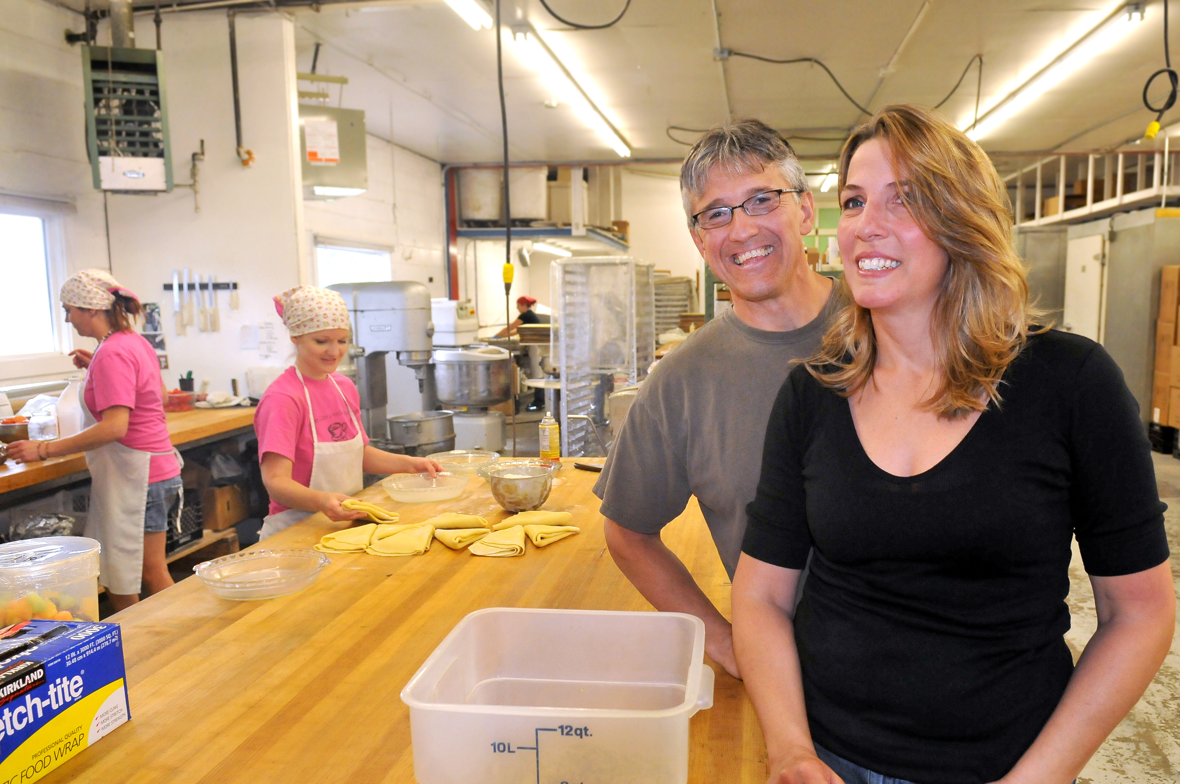 ede8fb0f21d Jeff and Julia Postlewait own and operate the Rocket Bakery and Rocket  Market stores from their