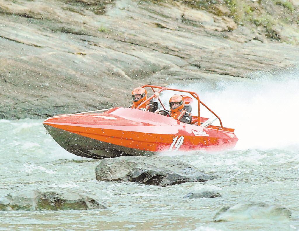P Salmon Racing Jet boat races to roar...