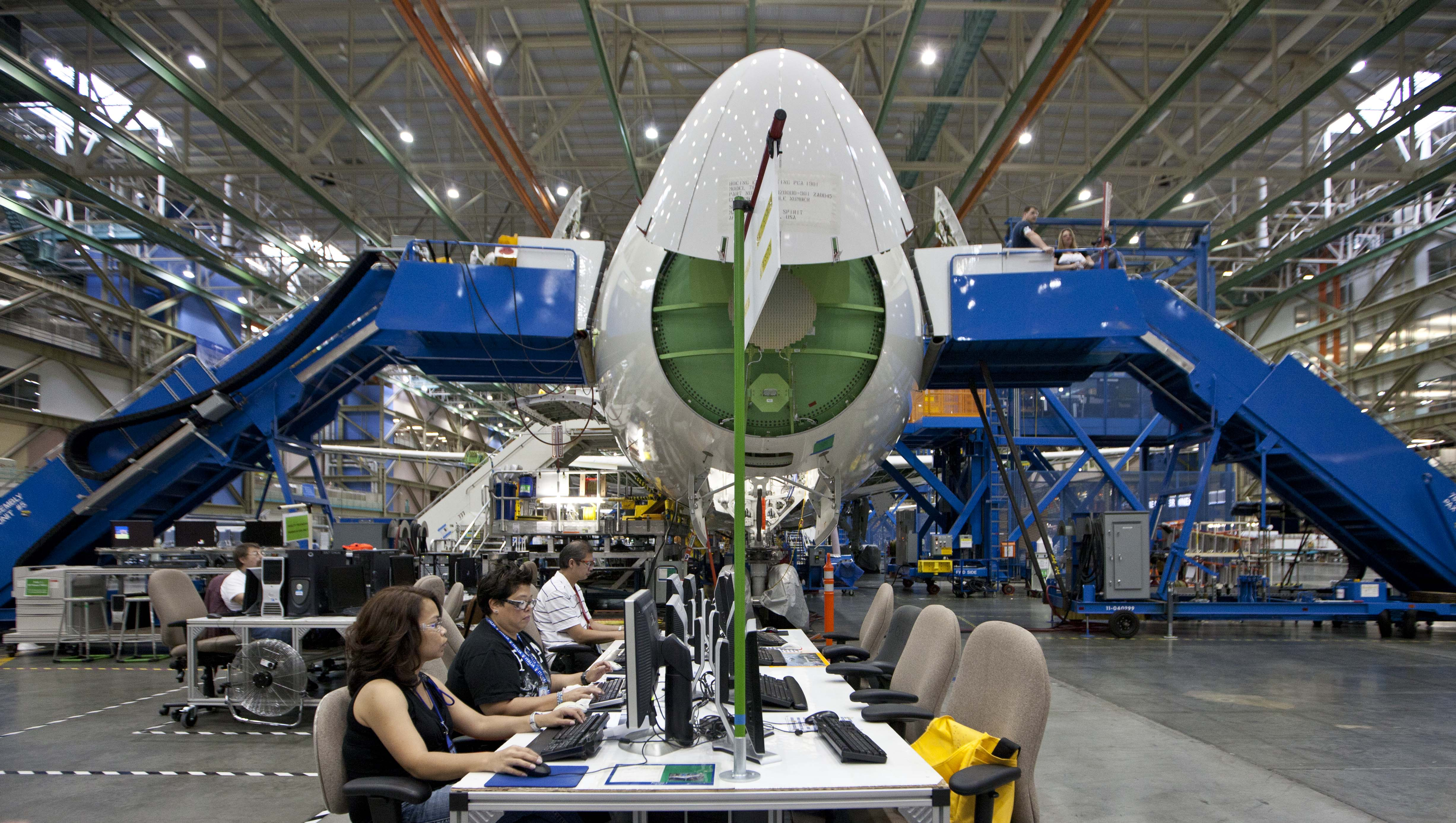 Boeing employment in Washington passes 80,000 | The