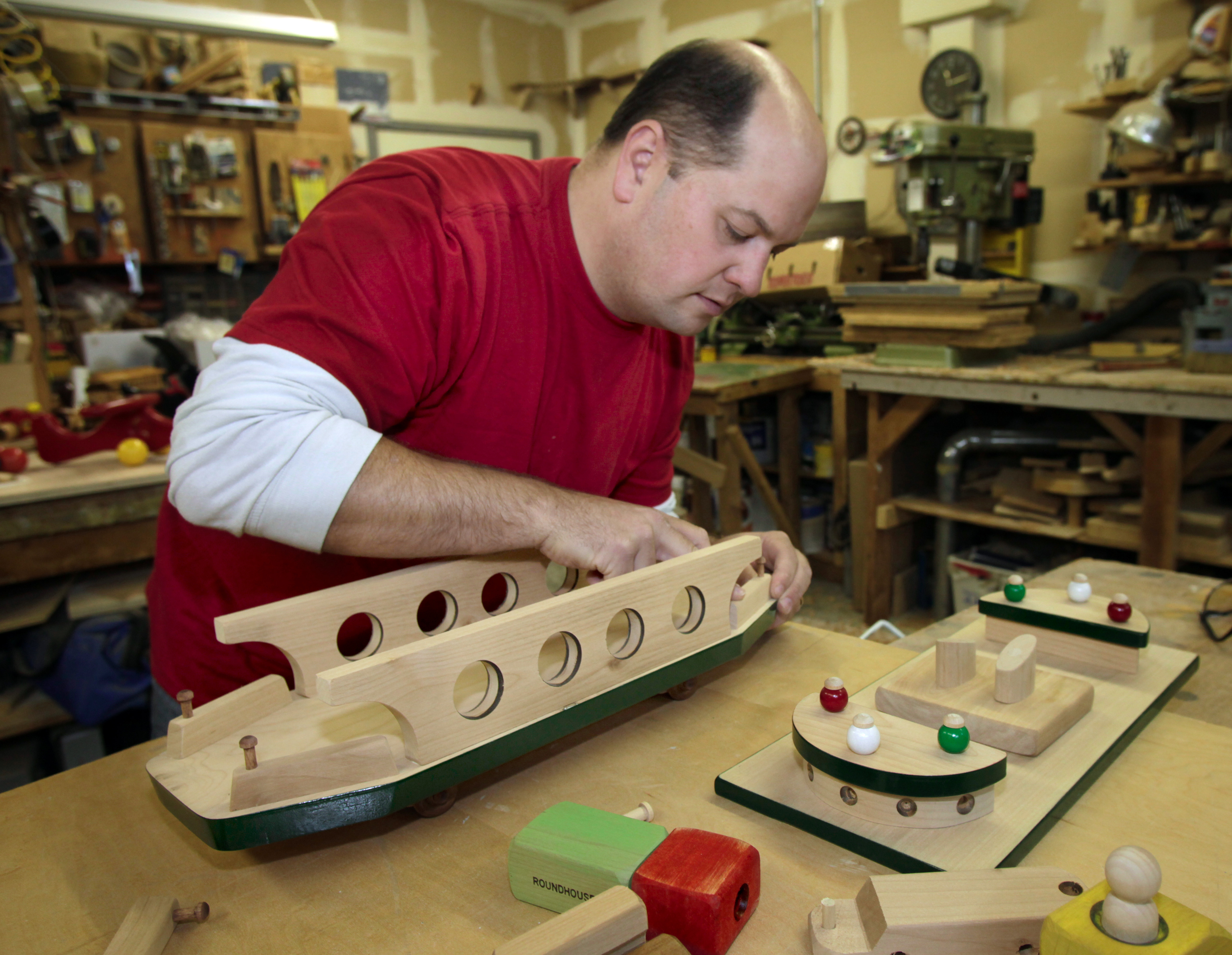 Toymaker Creates Them One At A Time The Spokesman Review