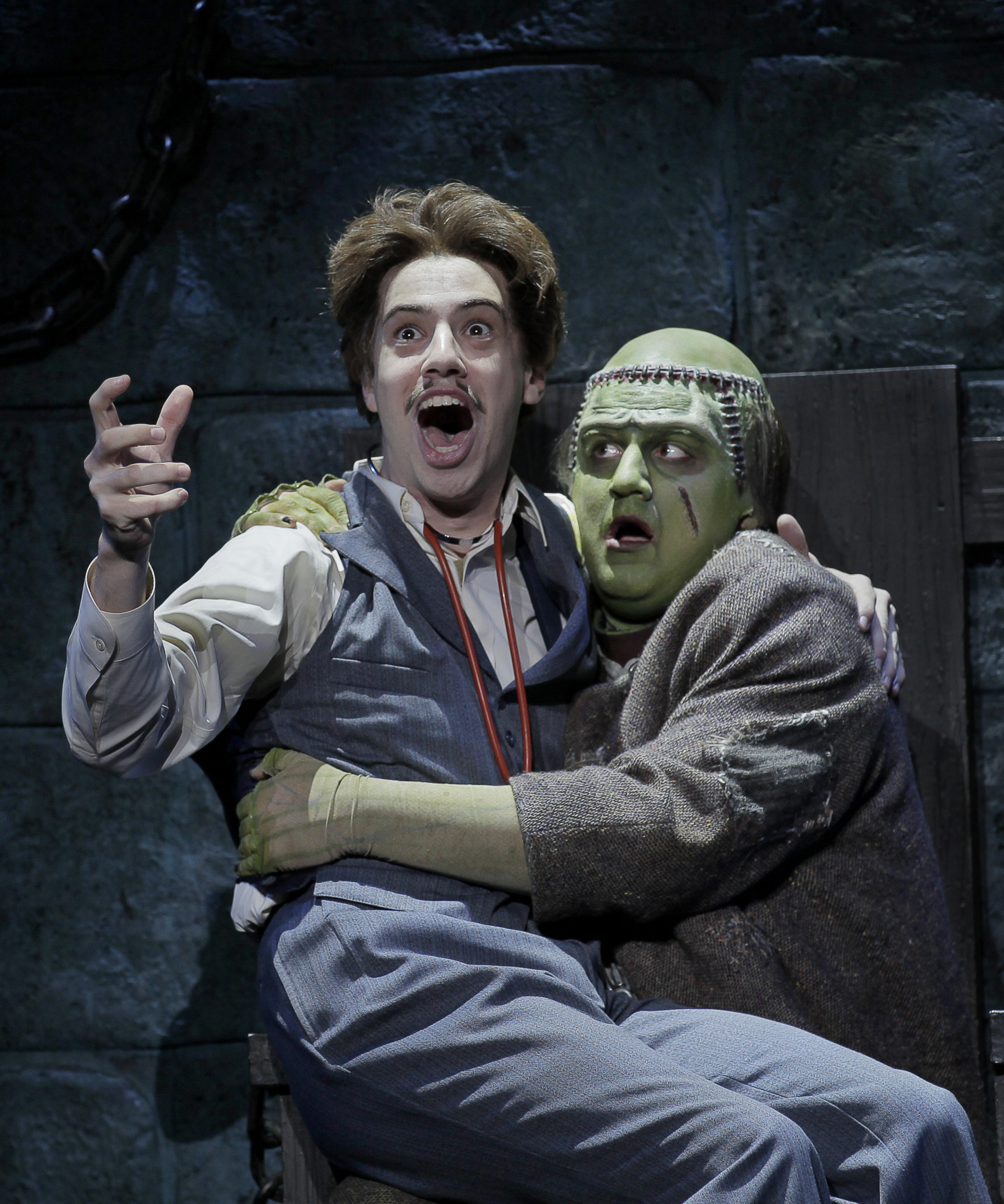 Mel Brooks Young Frankenstein Opens Tonight At Inb The