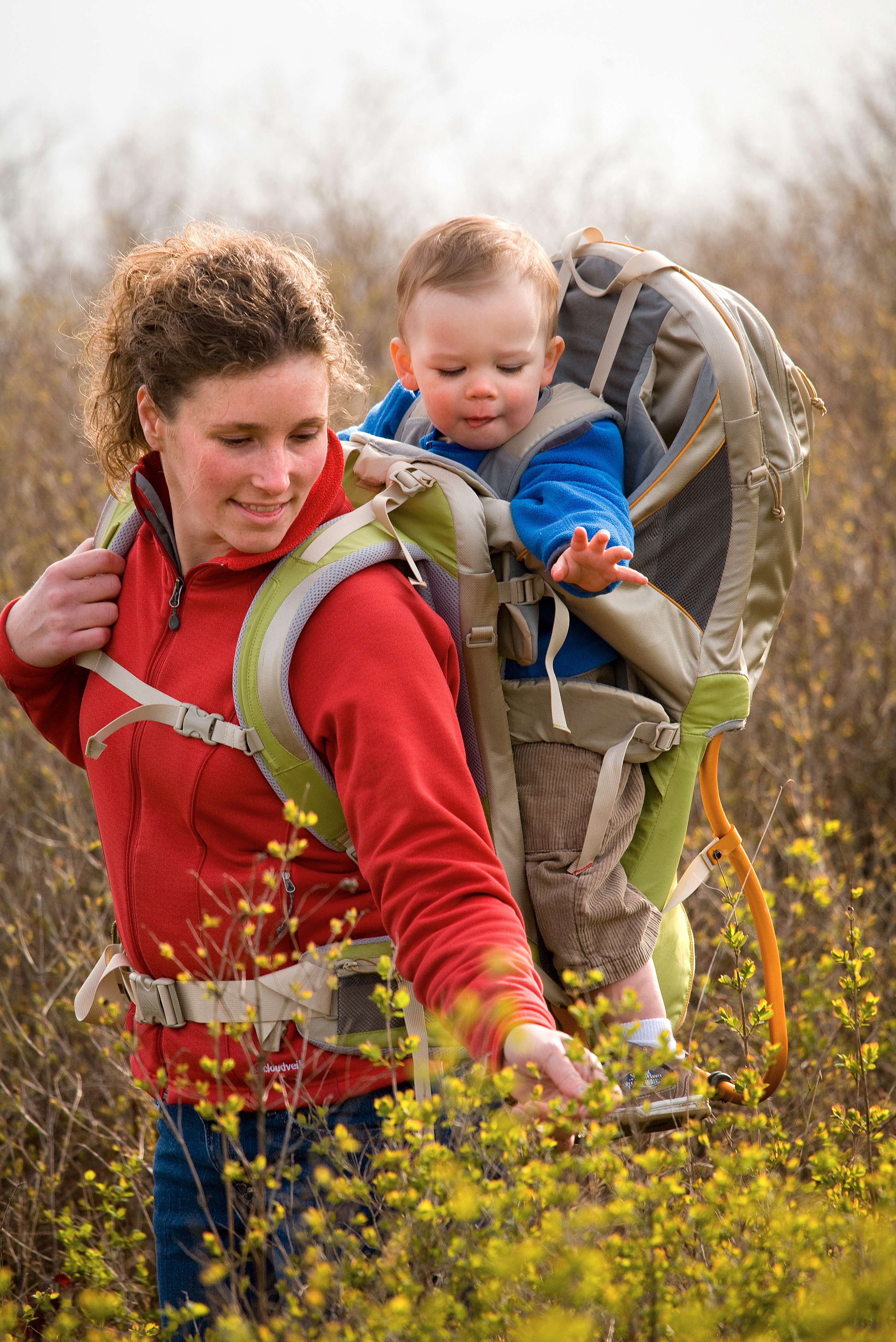 Baby carriers packed with features for outdoors